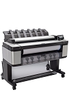 HP DesignJet T3500 36-in (914-mm) Production Multifunction Printer with extended warranty