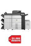 SHARP MX-6580N  High Speed Color Document (65ppm/65ppm)