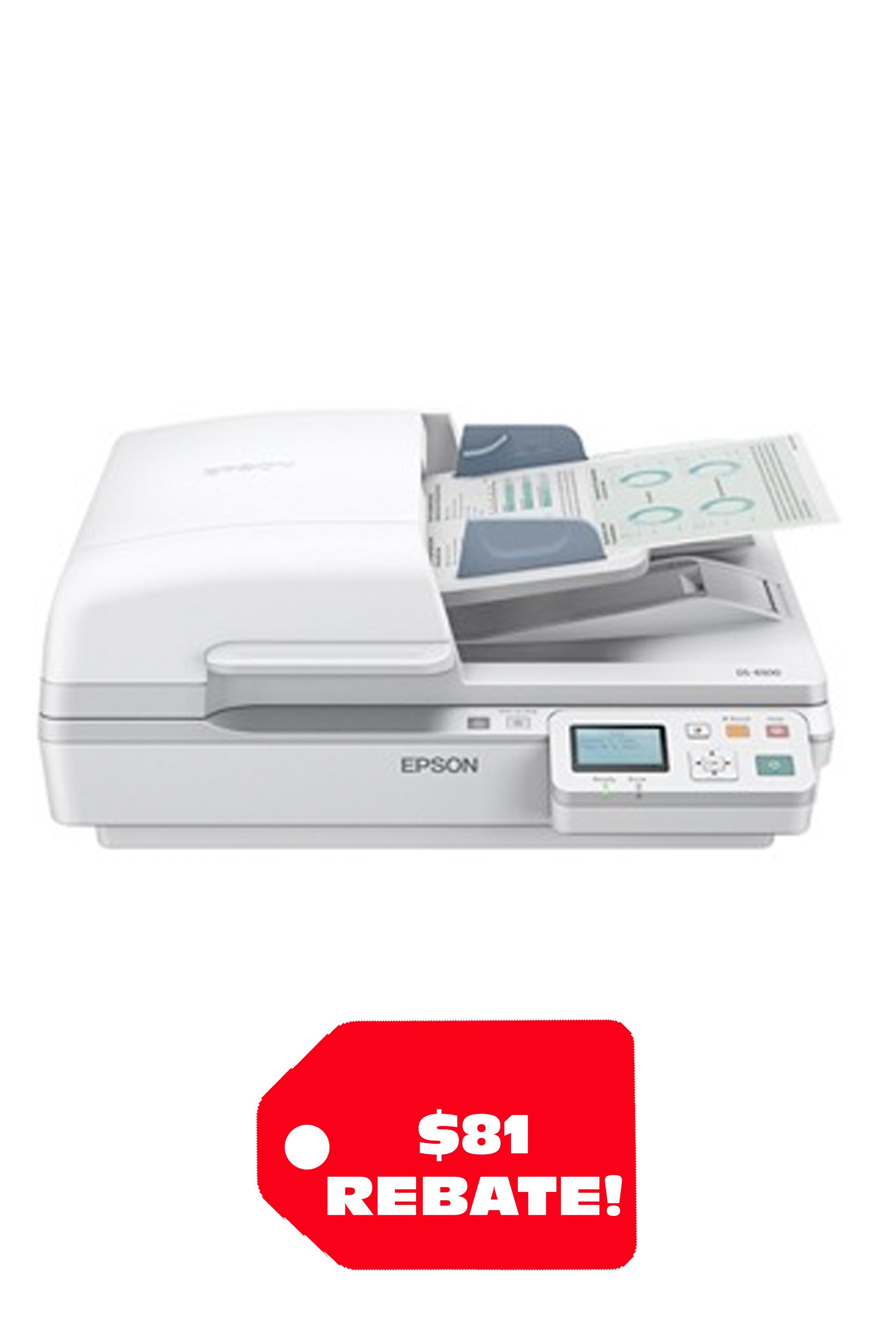 Epson WorkForce DS-6500 Color Document Scanner (25/50ppm)