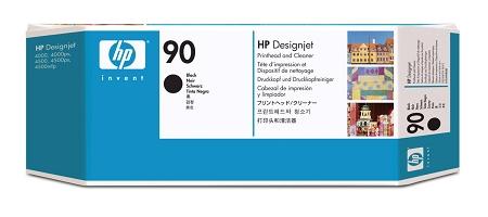 HP 90 (C5054A) Black Printhead/Printhead...