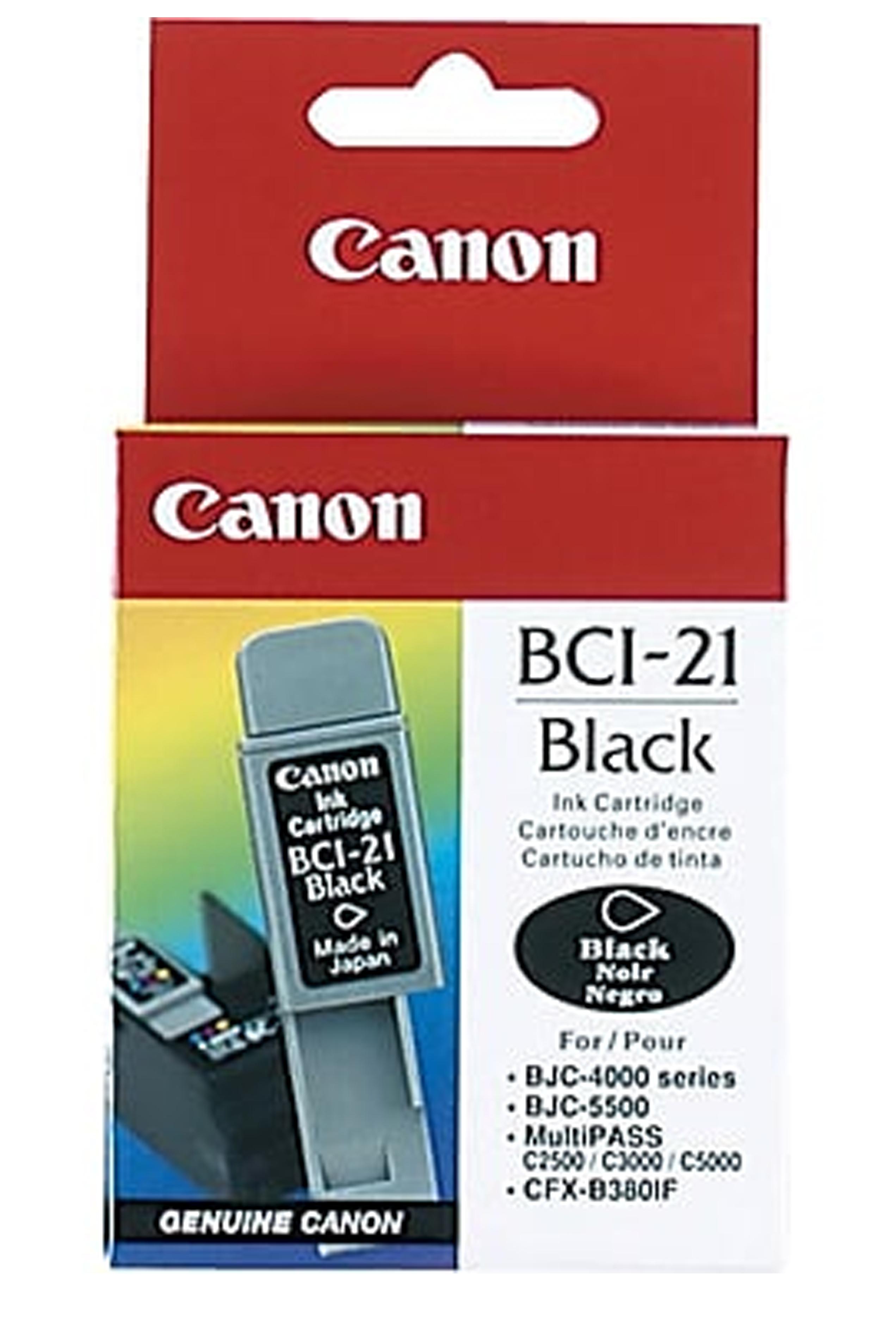 Canon BCI-21BK Black Ink Tank (0954A003)