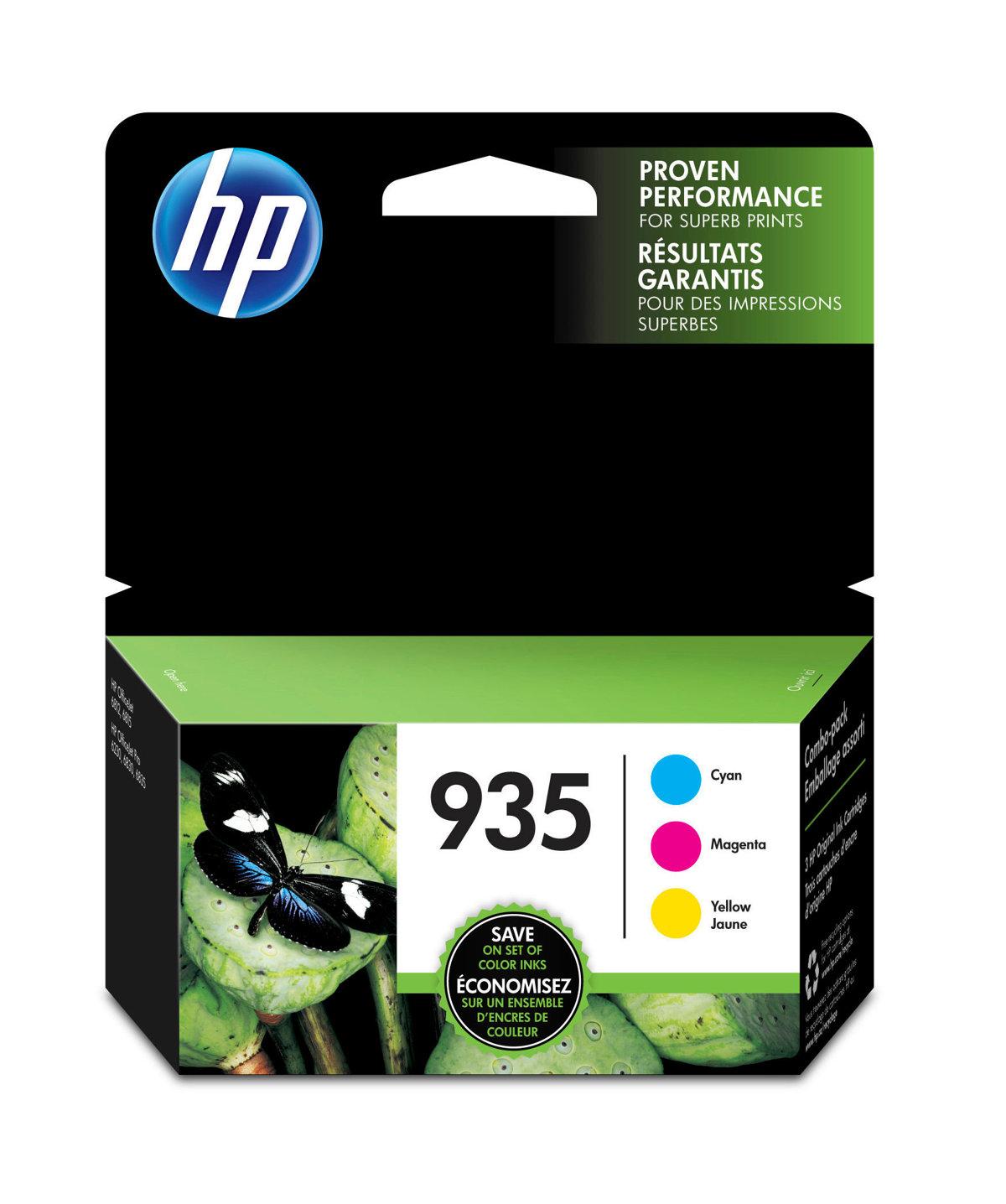 HP 935 (N9H65FN) Cyan/Magenta/Yellow...
