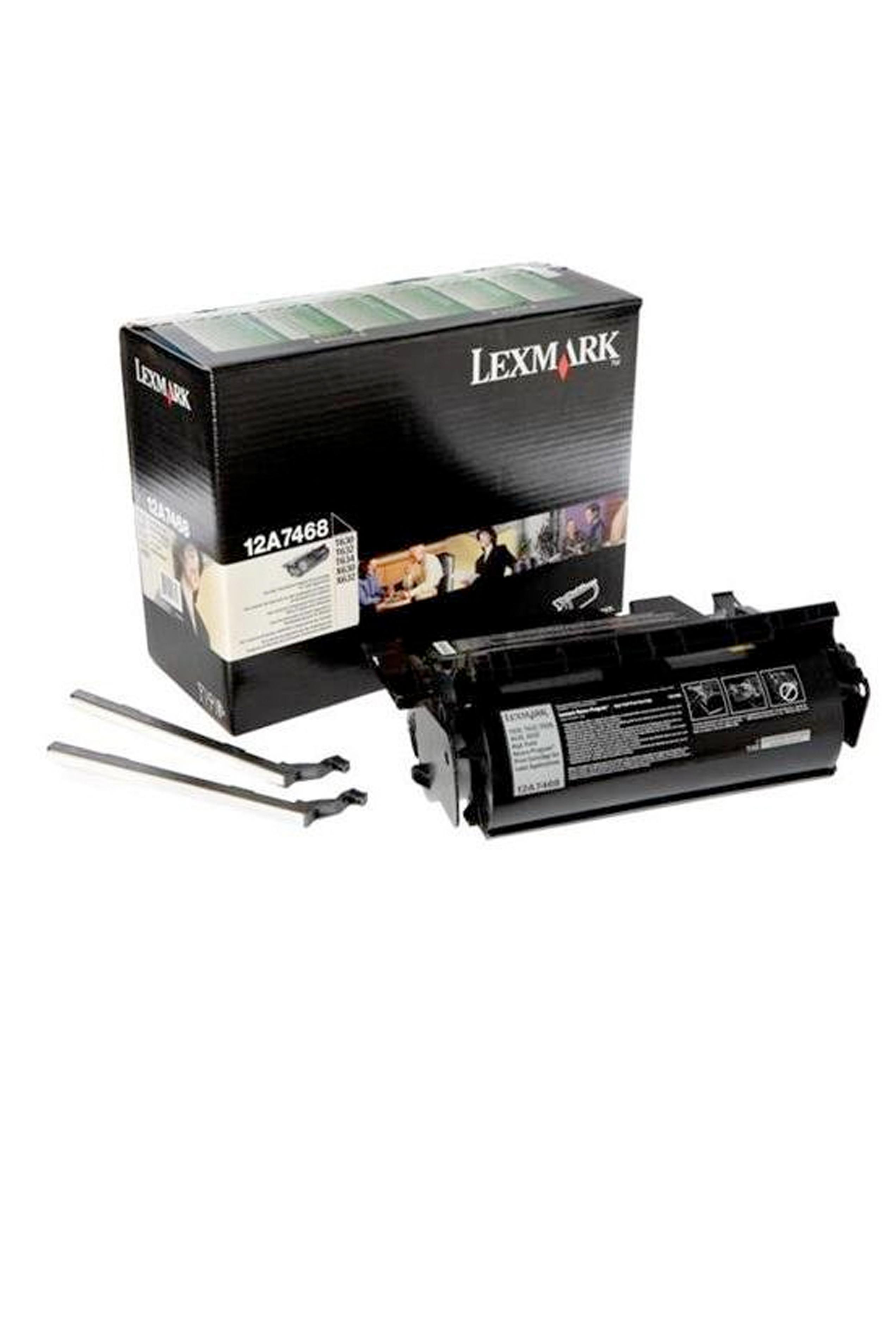 Lexmark LEXMARK 21K @ 5% RETURN PROG PRINT CARTRIDGES (LABELS) (12A7468)