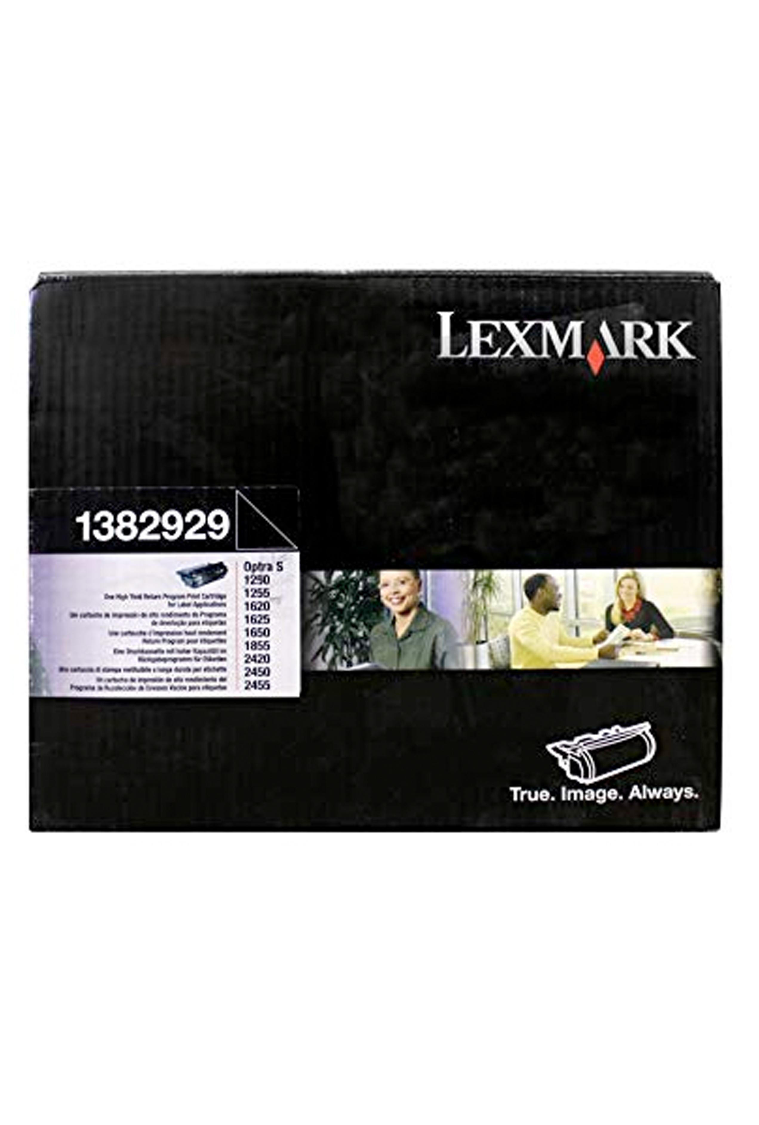 Lexmark LEXMARK OPTRA S 17.6K @5% RETURN PROG CARTRIDGE W/OIL FUSER CLEANER (1382929)
