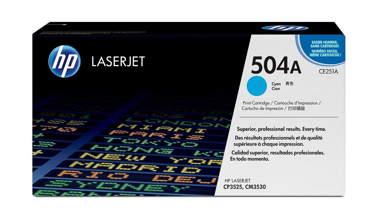 HP Cyan Original LaserJet Toner Cartridge for US Government (7...
