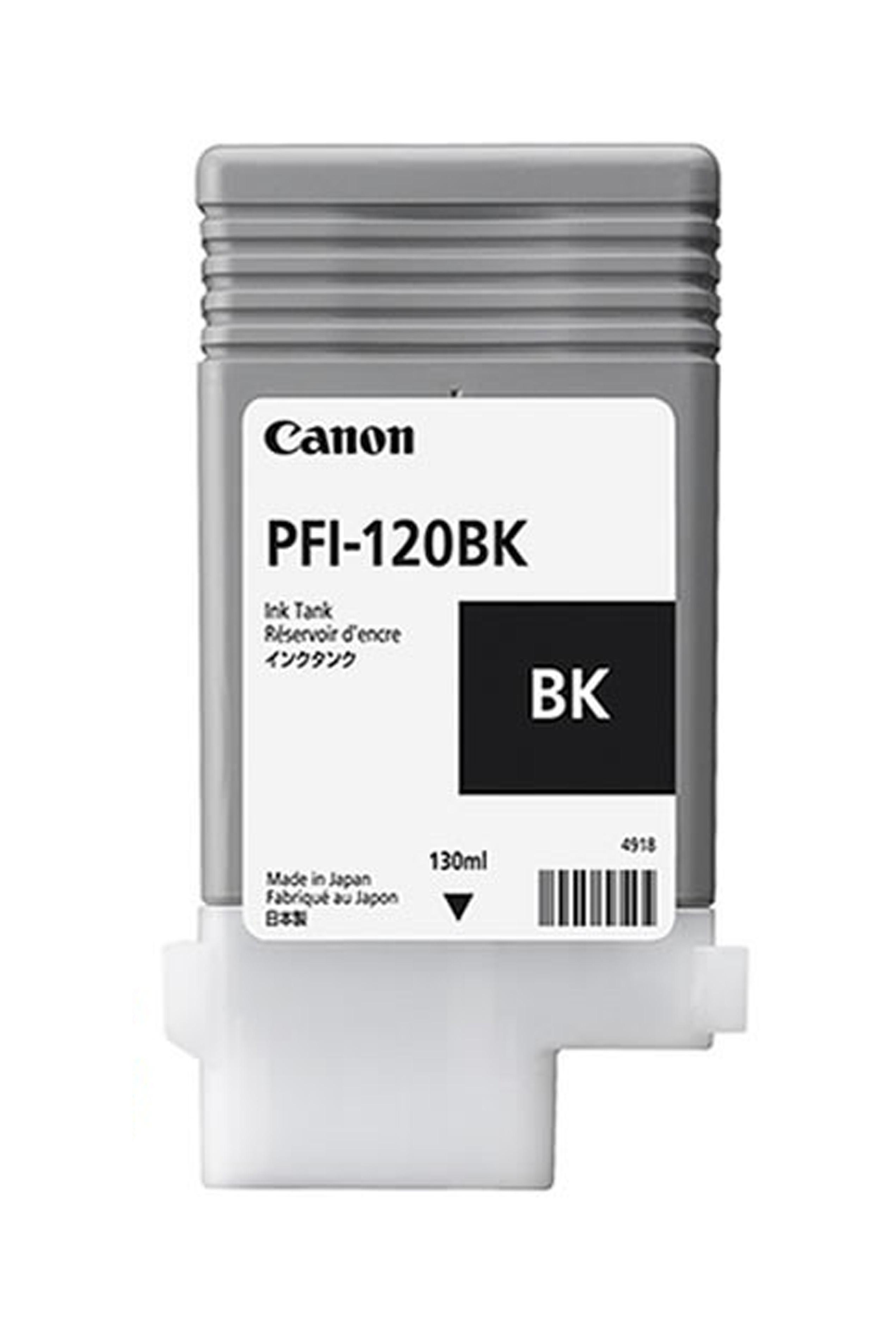 Canon Ink Tank PFI-120BK - Pigment Black Ink Tank 130 Ml...