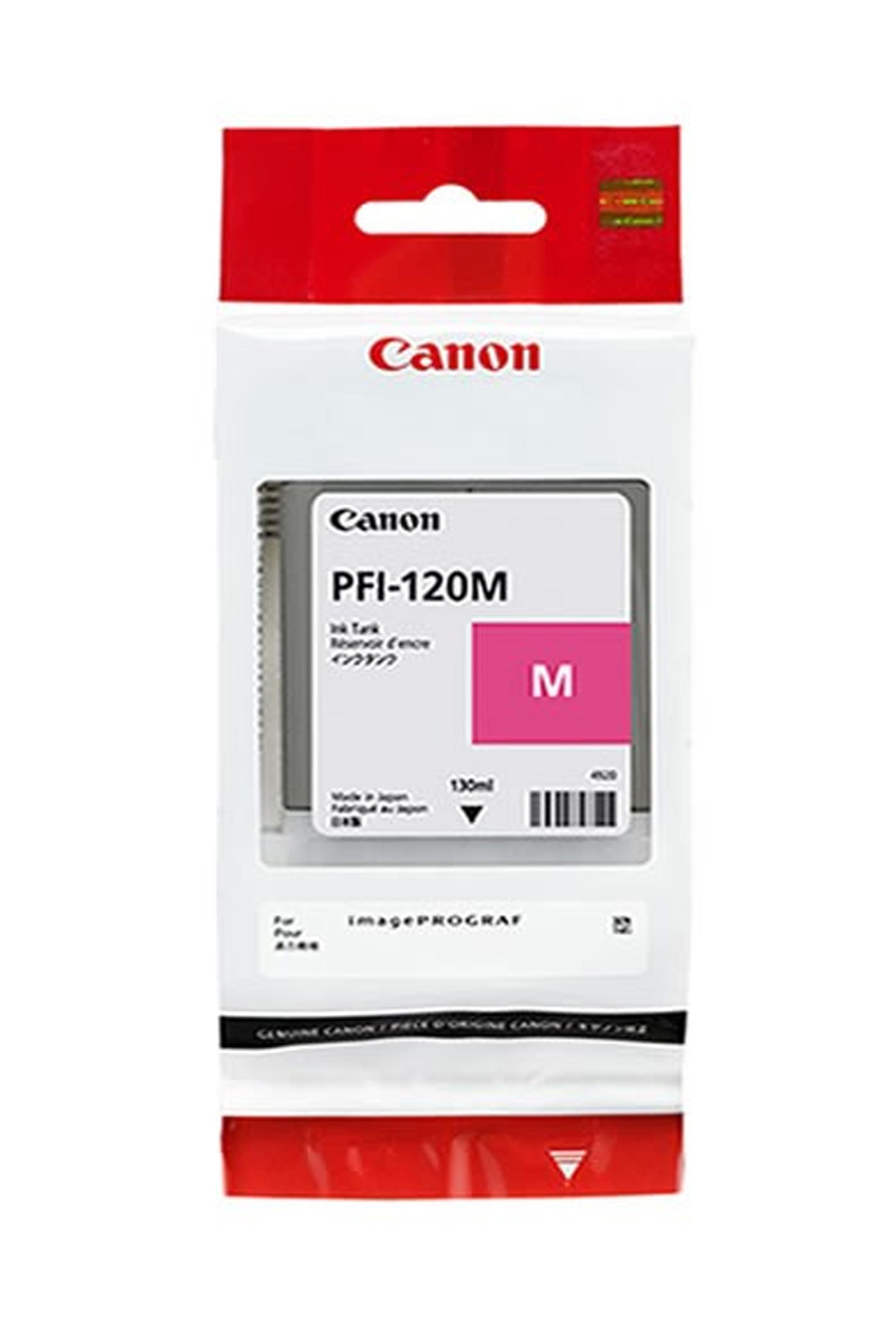 Canon Ink Tank PFI-120M Pigment Magenta Ink Tank 130ml (2887C001AA)