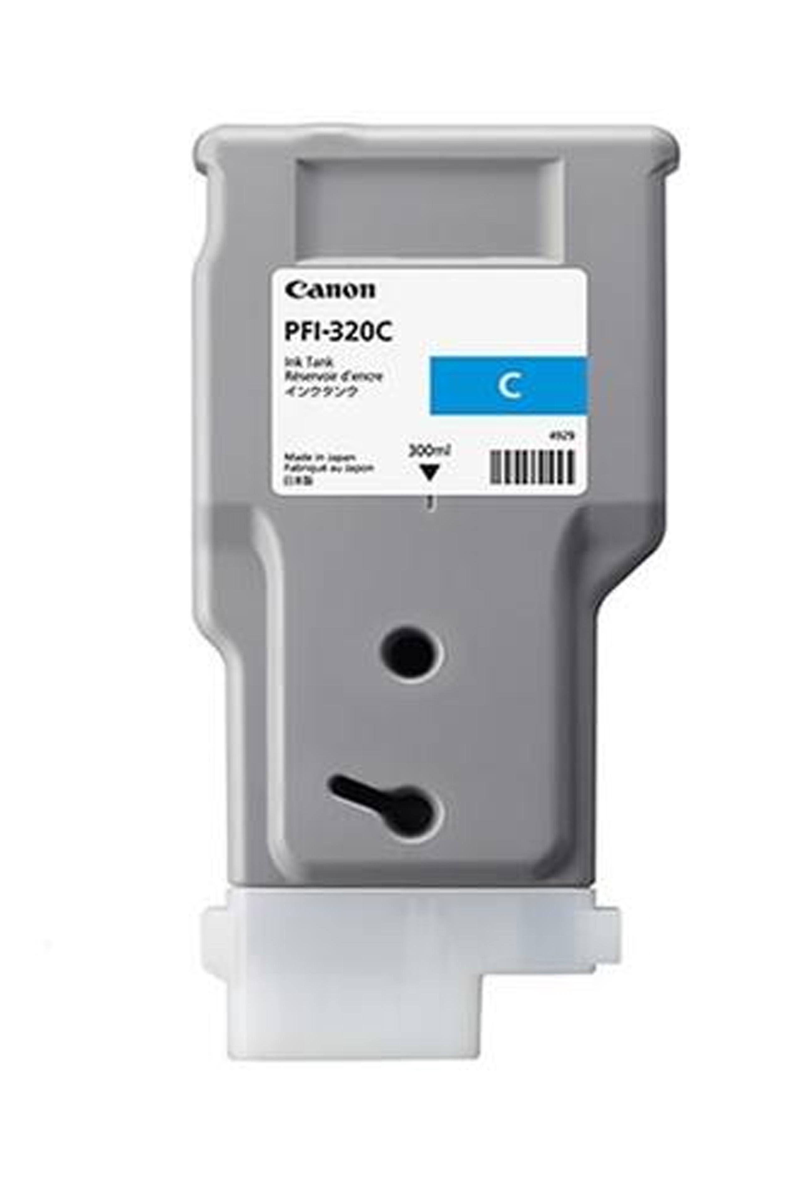 Canon Ink Tank PFI-320C Pigment Cyan Ink tank 300ml (2891C001AA)