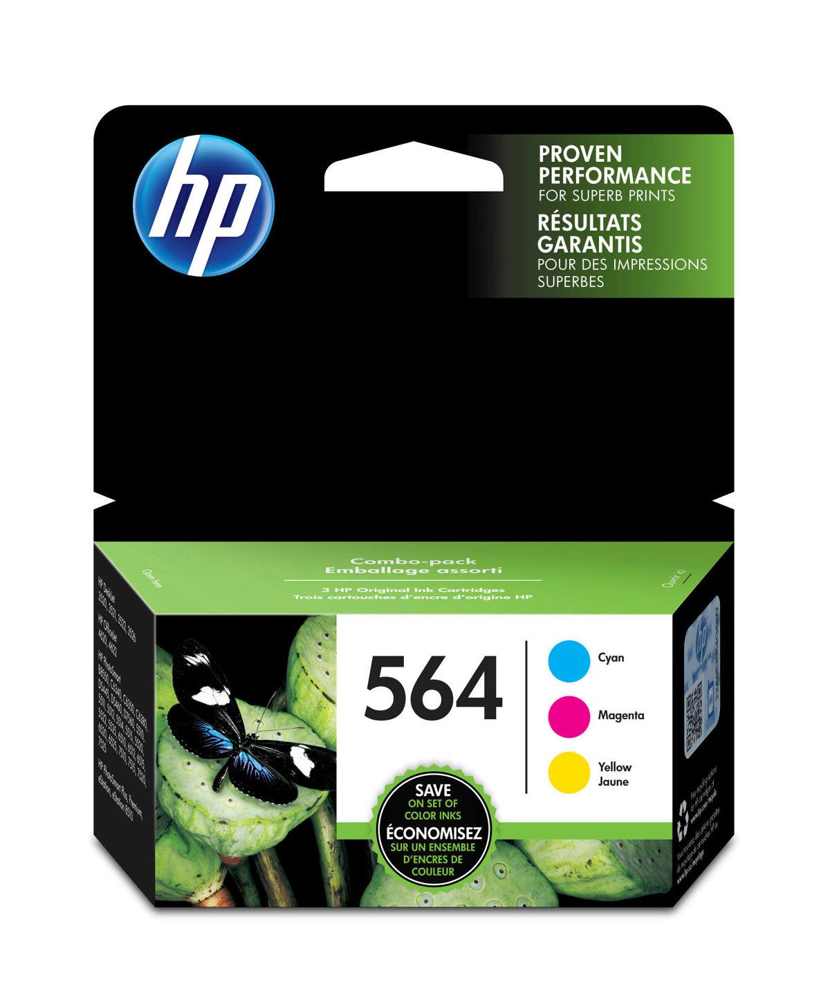 HP 564 (N9H57FN) Cyan/Magenta/Yellow...