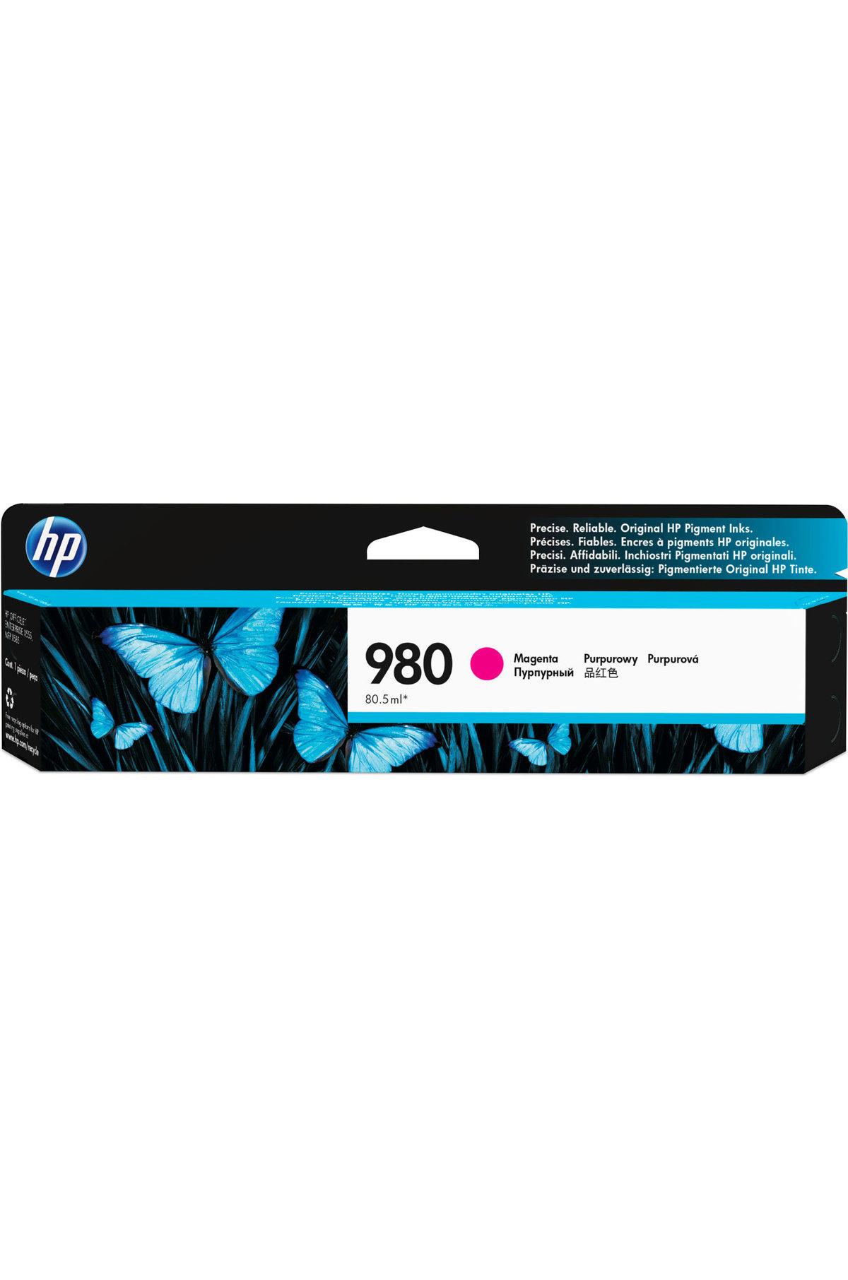 HP 980 (D8J08AG) Magenta Original Ink Cartridge for US...