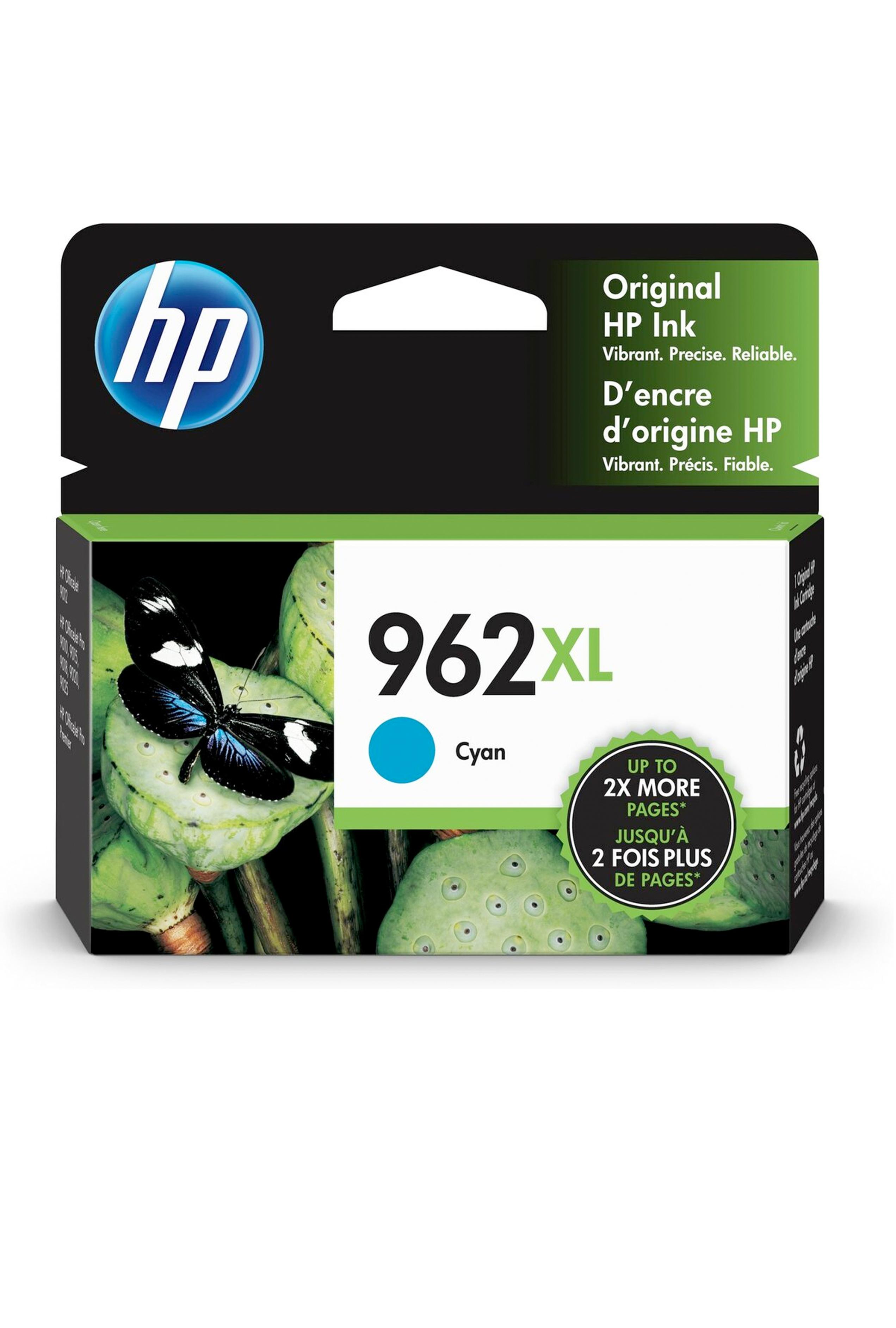 HP 962XL CYAN ORIGINAL CARTRIDGE (1.6K) (3JA00AN)