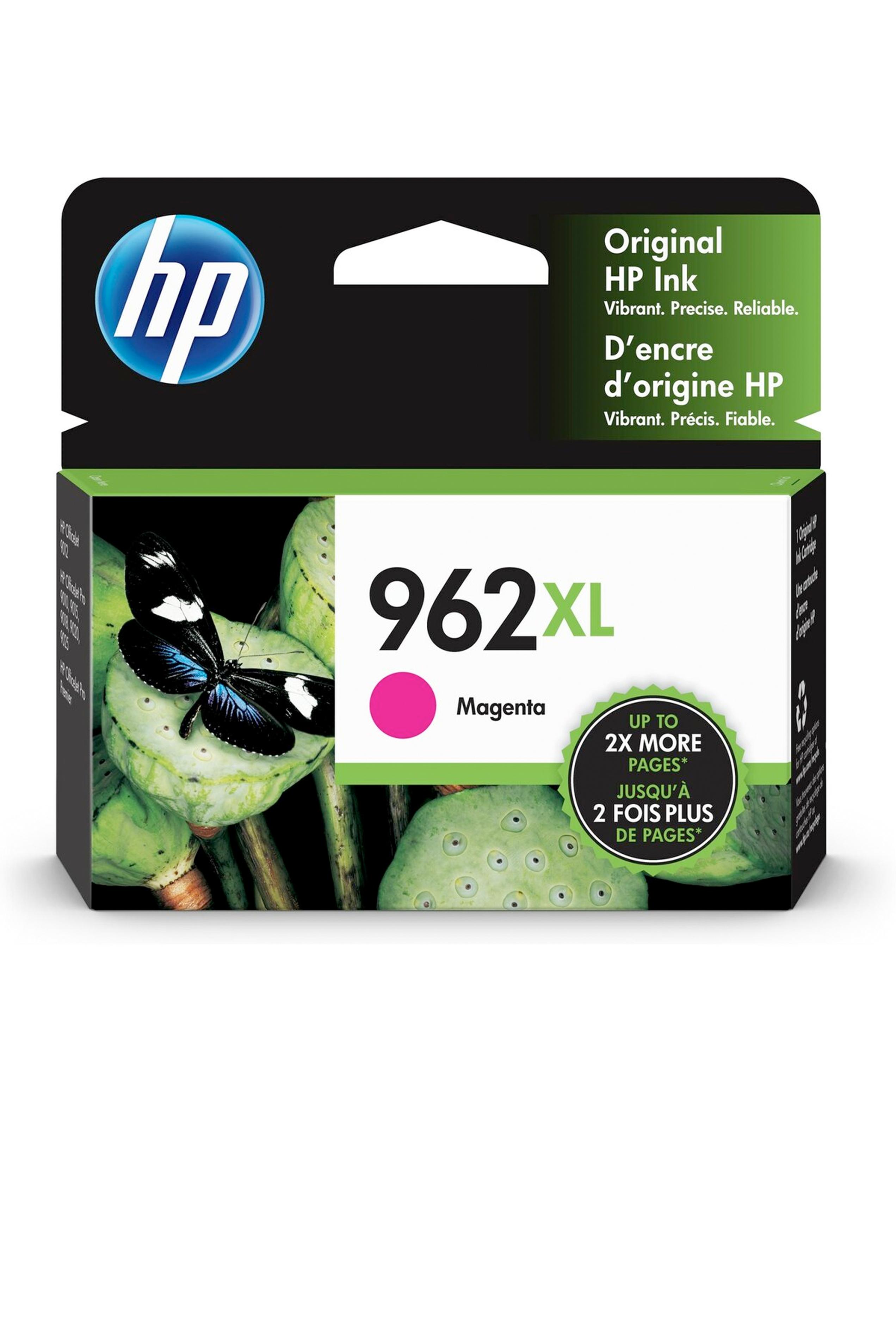 HP 962XL MAGENTA ORIGINAL CARTRIDGE (1.6K) (3JA01AN)