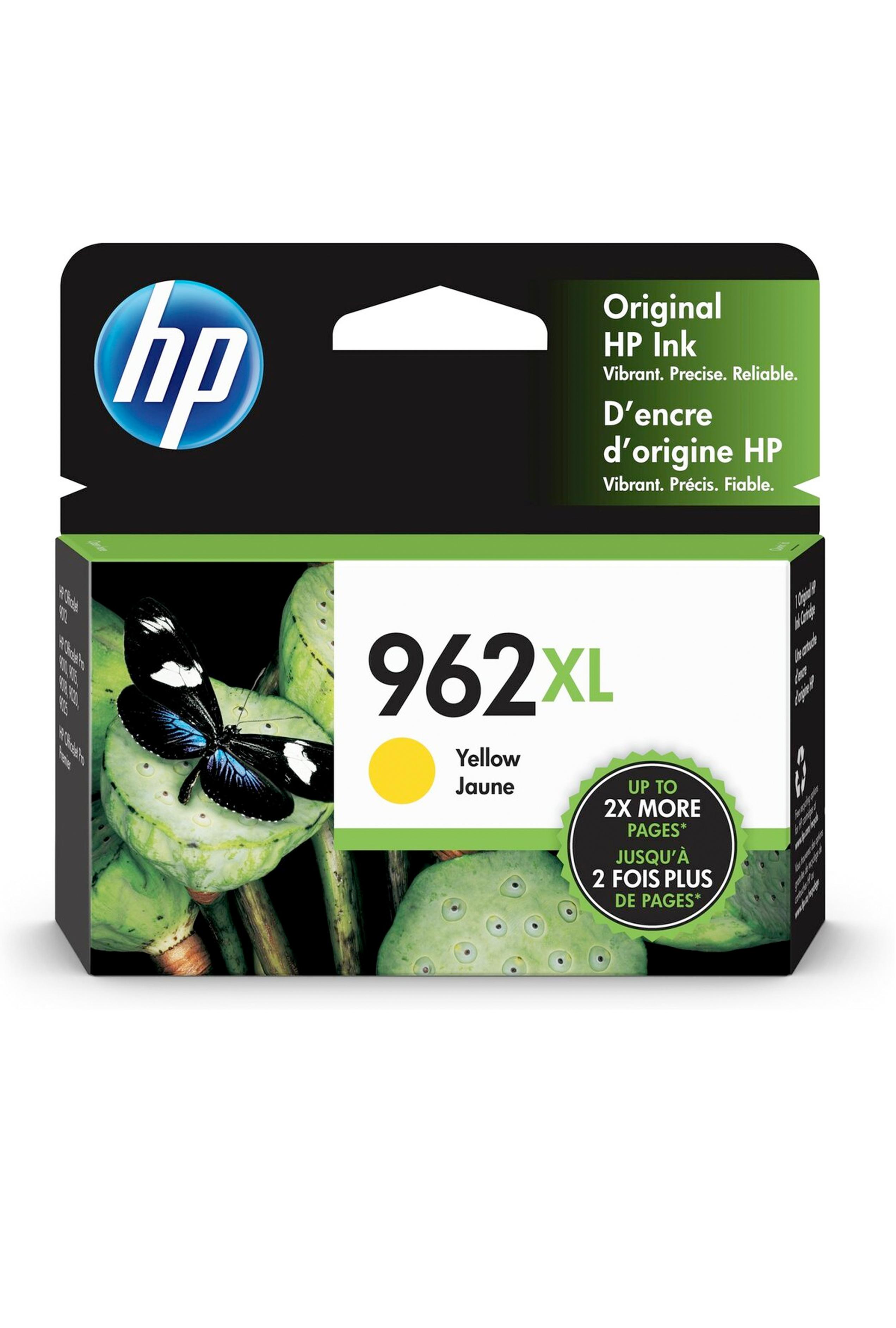 HP 962XL YELLOW ORIGINAL CARTRIDGE (1.6K) (3JA02AN)