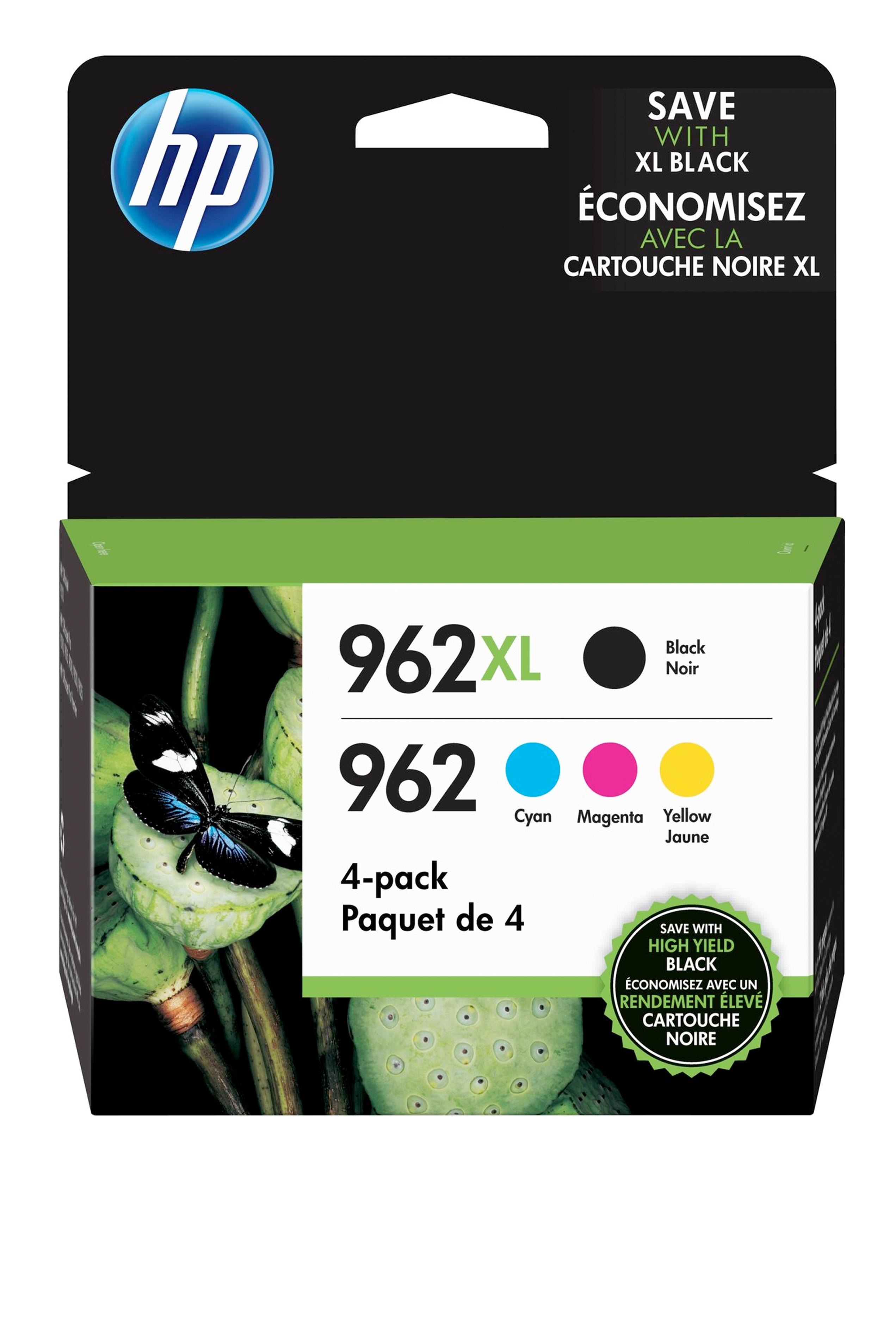 HP 4 Pack Cartridges (3JB34AN)