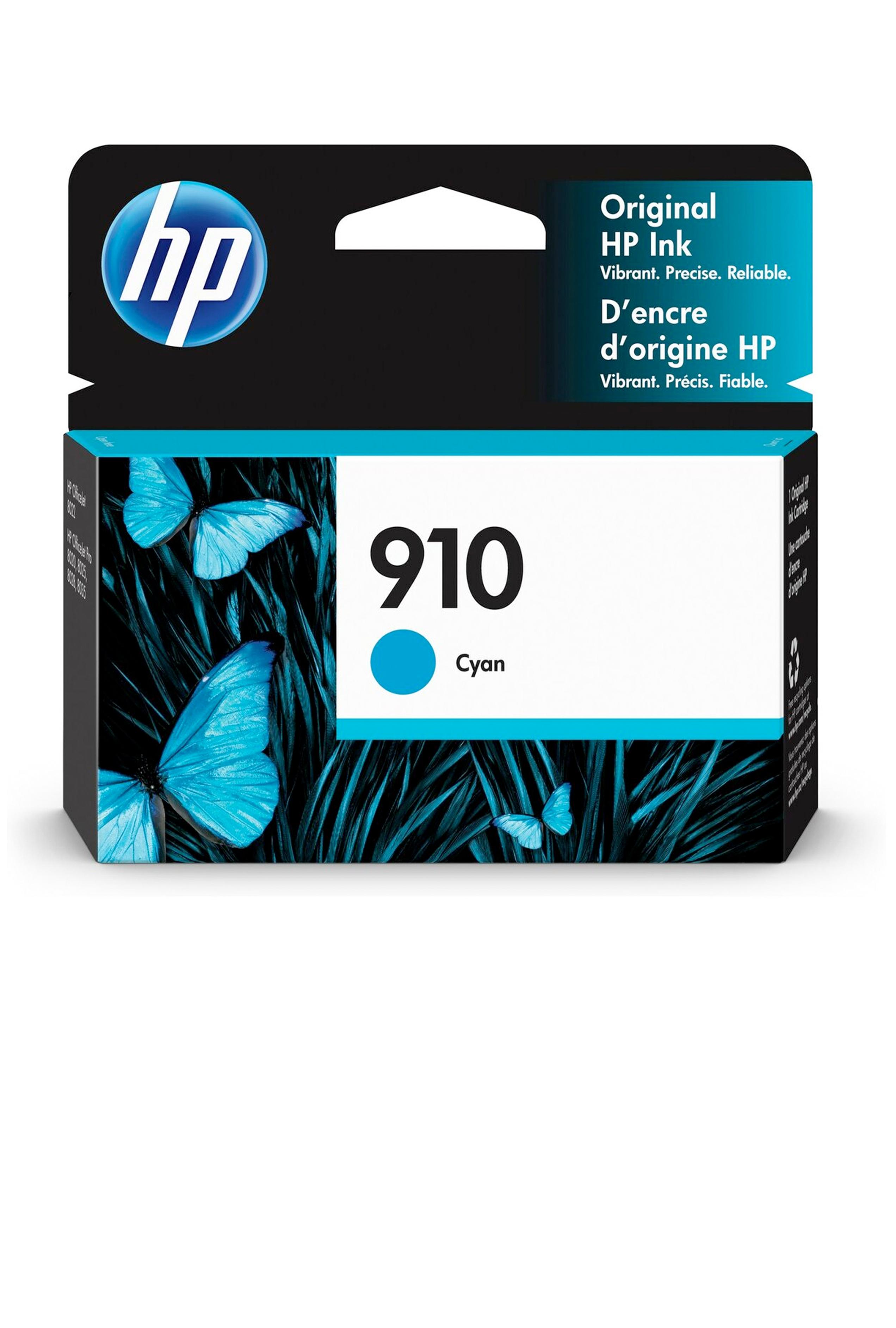 HP 910 CYAN ORIGINAL CARTRIDGE 315 YIELD (3YL58AN)