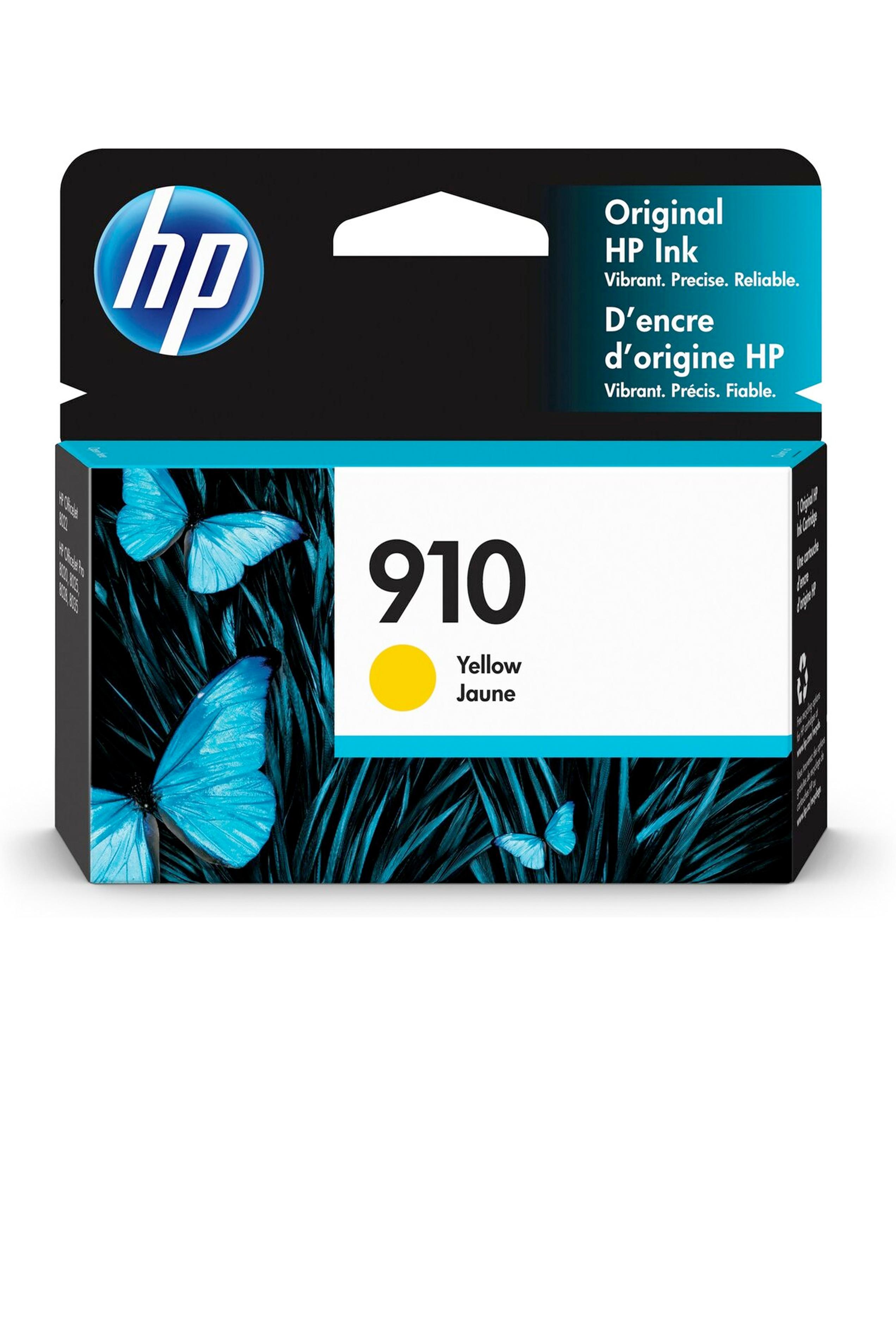 HP 910 YELLOW ORIGINAL CARTRIDGE (315 YLD) (3YL60AN)