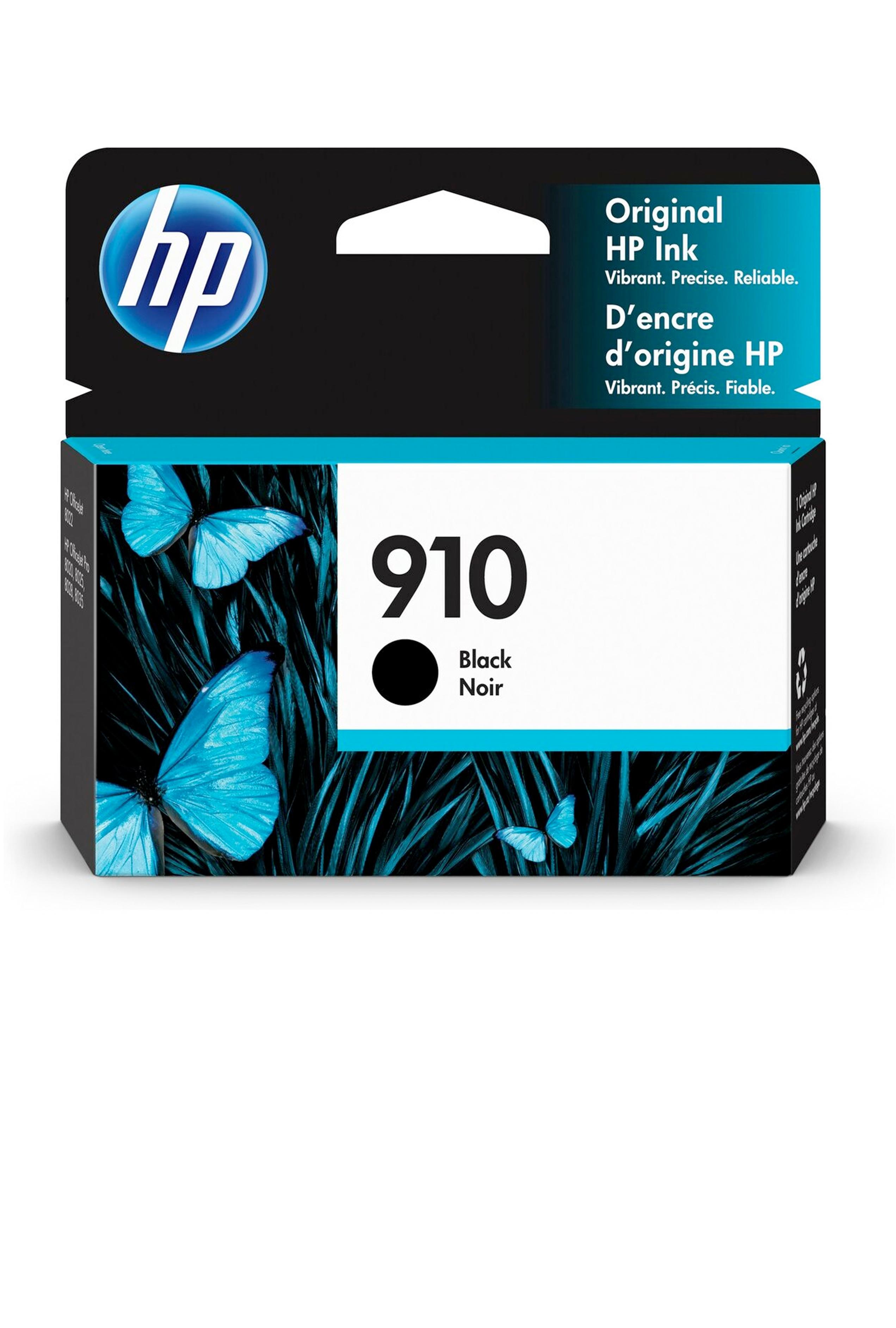 HP 910 BLACK ORIGINAL CARTRIDGE (300 YLD) (3YL61AN)