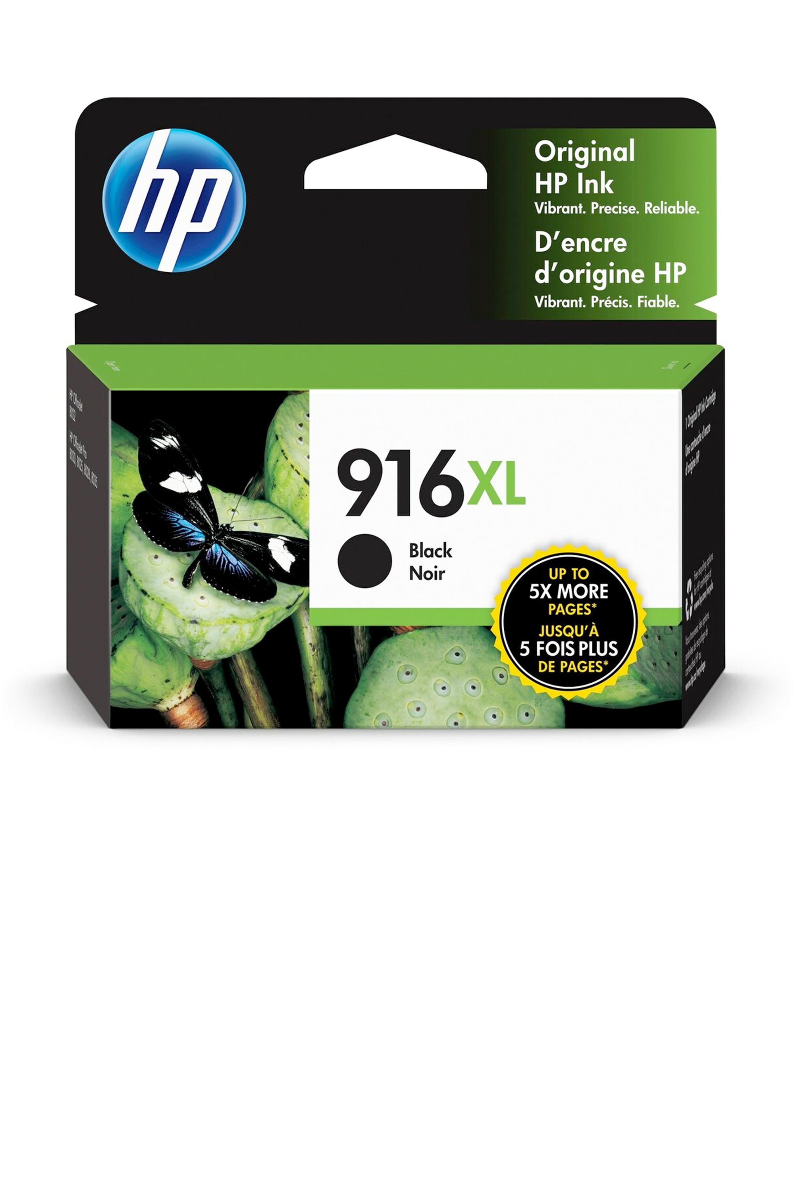HP 916XL BLACK ORIGINAL CARTRIDGE (1.5K YLD) (3YL66AN)