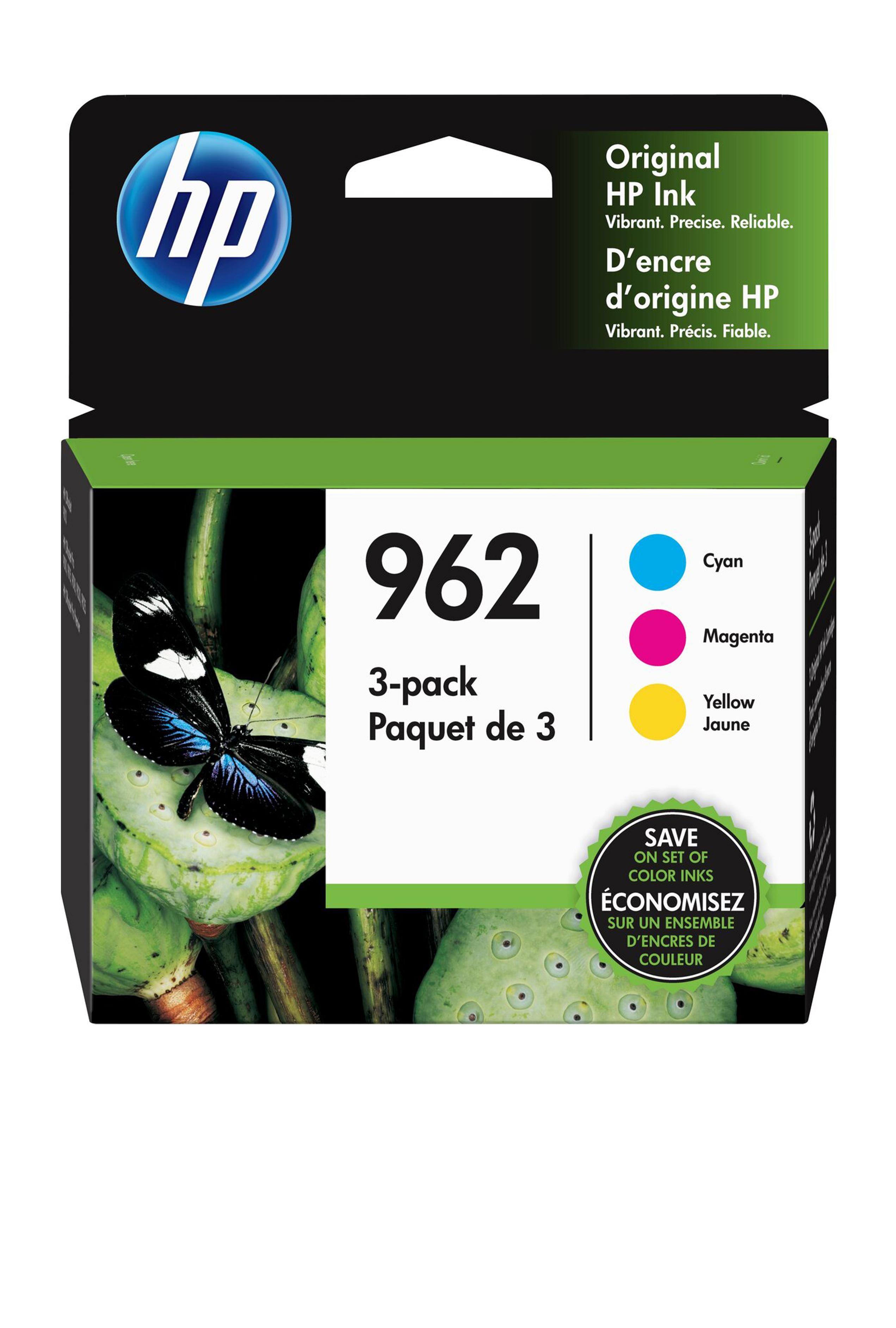 HP 962 CMY COMBO ORIGINAL CARTRIDGE (2.1K YLD)