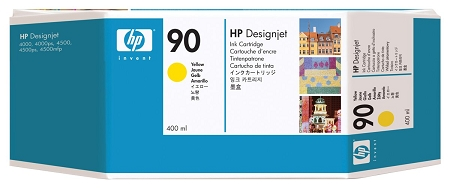HP 90 (C5065A) Yellow Original...