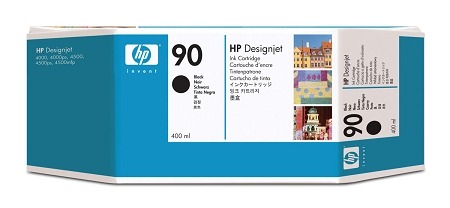 HP 90 (C5058A) Black Original...