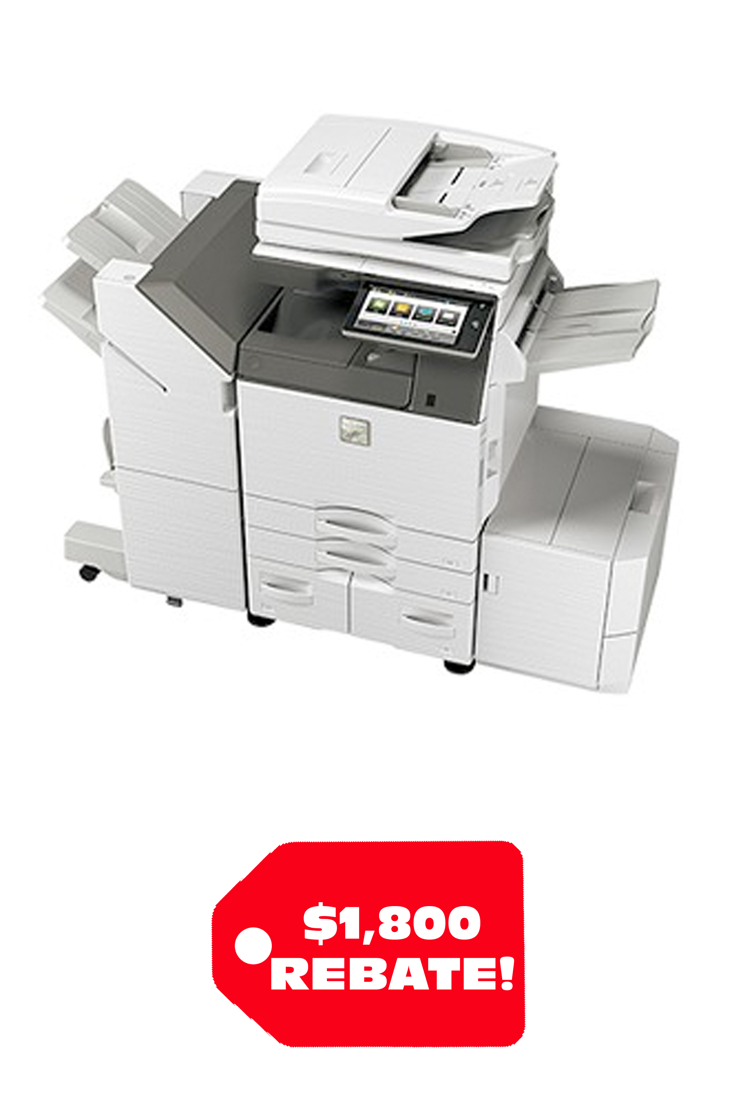 Sharp MX-4070V Color Desktop Laser Multifunction Copier...