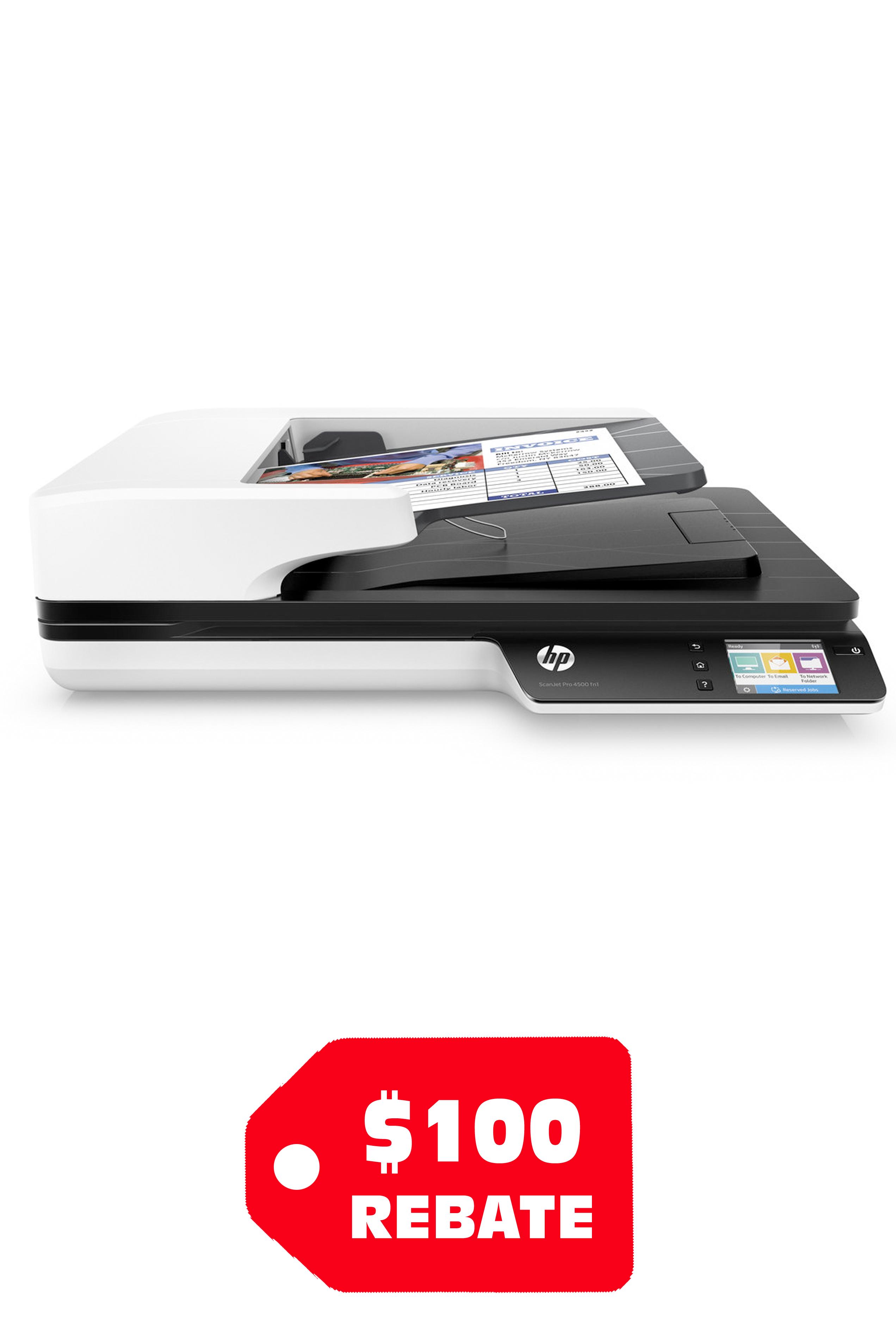 HP ScanJet Pro 4500 fn1 Network...