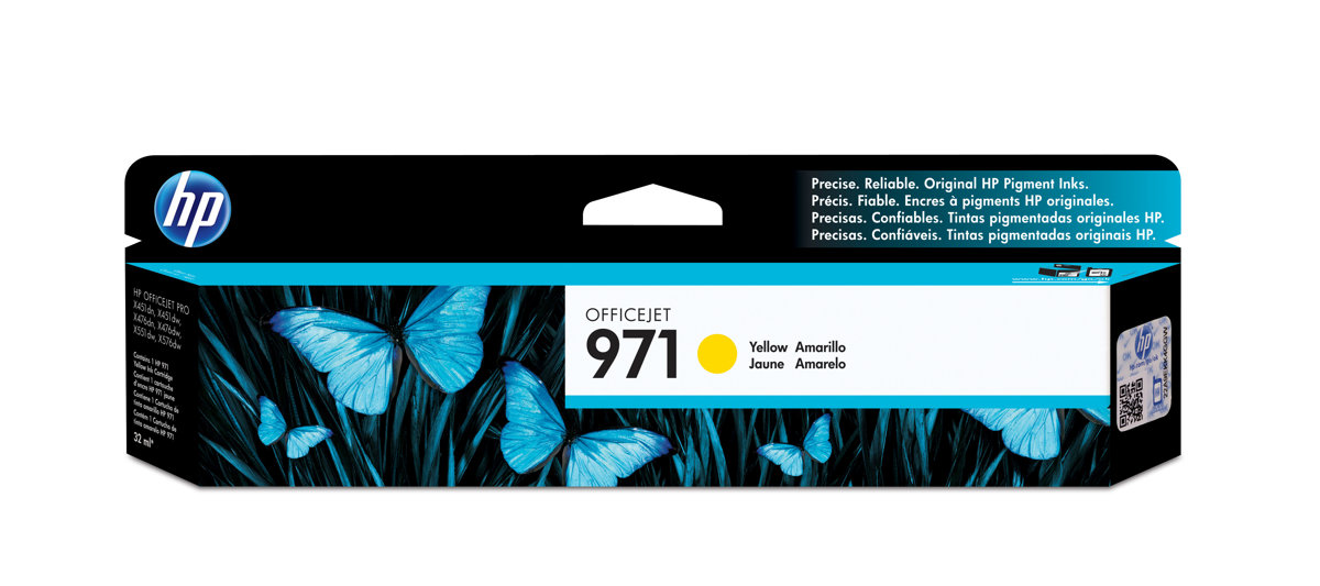 HP 971 (CN624AM) Yellow Original...