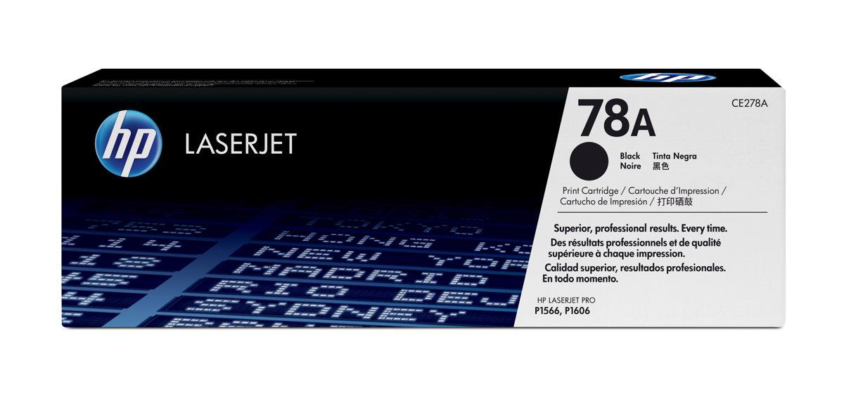 HP 78A (CE278A) LaserJet Pro P1606 M1536 MFP Black Original...