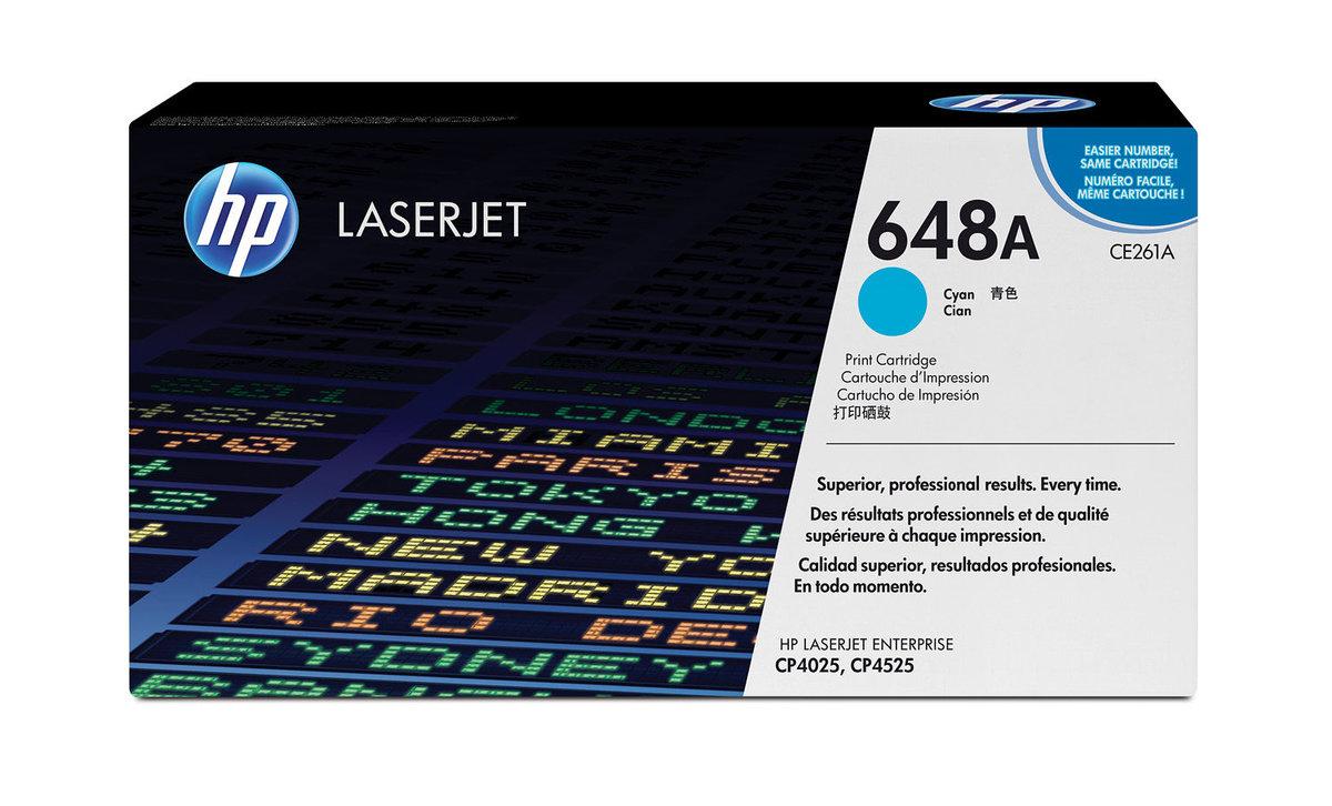 HP 648A Color LaserJet Cyan Original LaserJet Toner Cartridge...