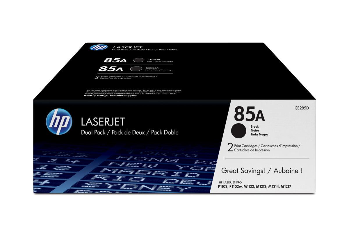 HP 85A (CE285D) LaserJet Pro P1102 M1212 M1217 MFP 2-Pack...