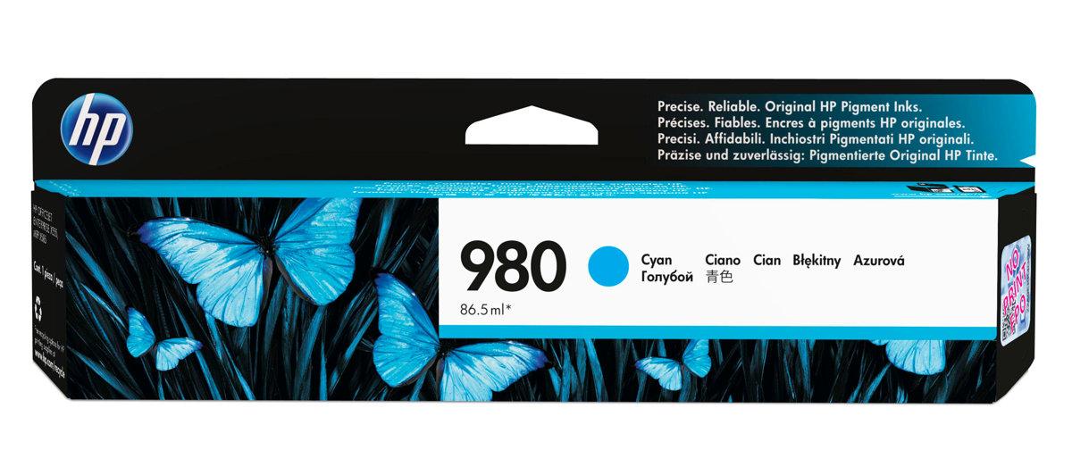 HP 980 (D8J07A) Cyan Original...