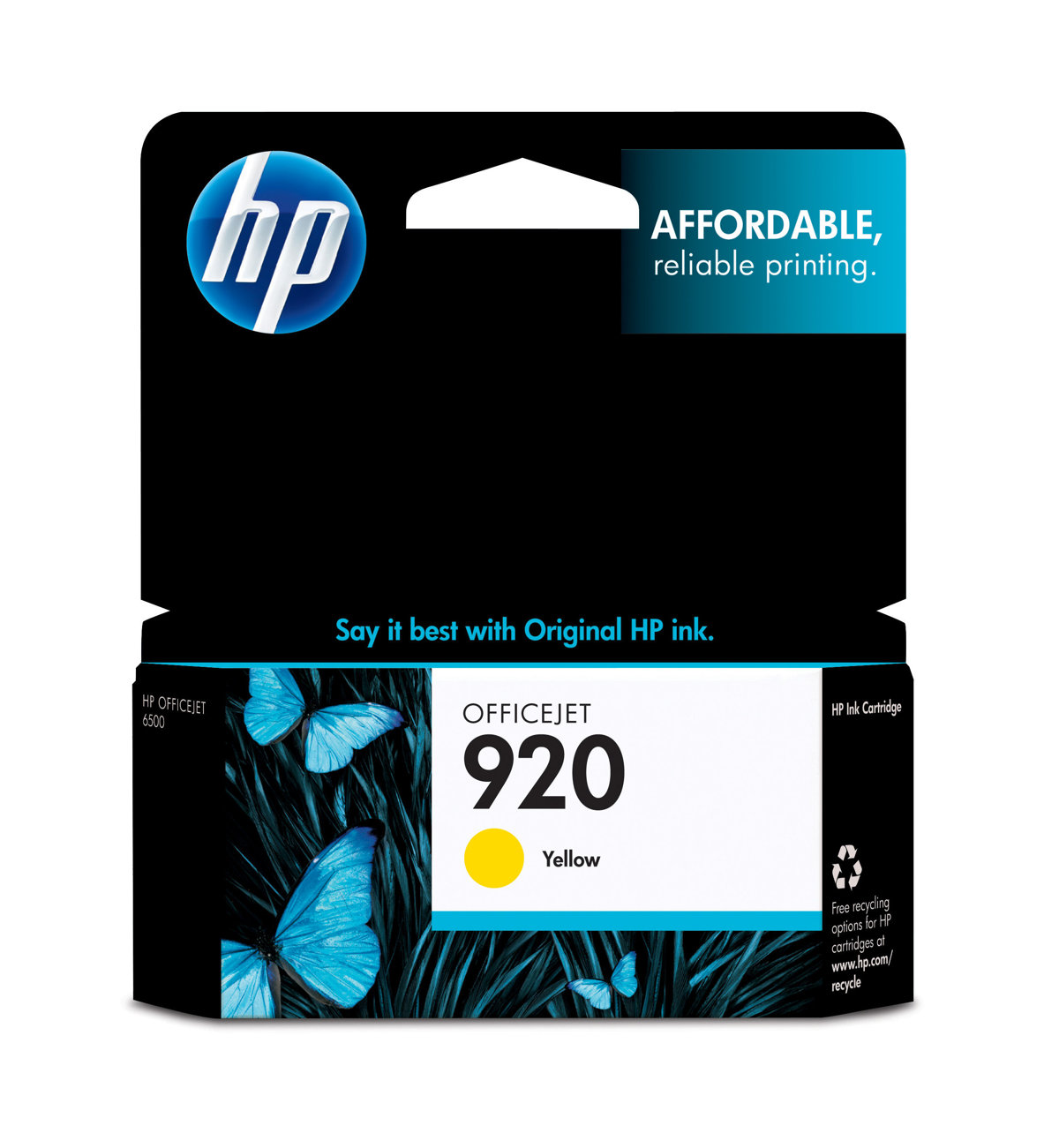 HP 920 (CH636AN) Yellow Original...