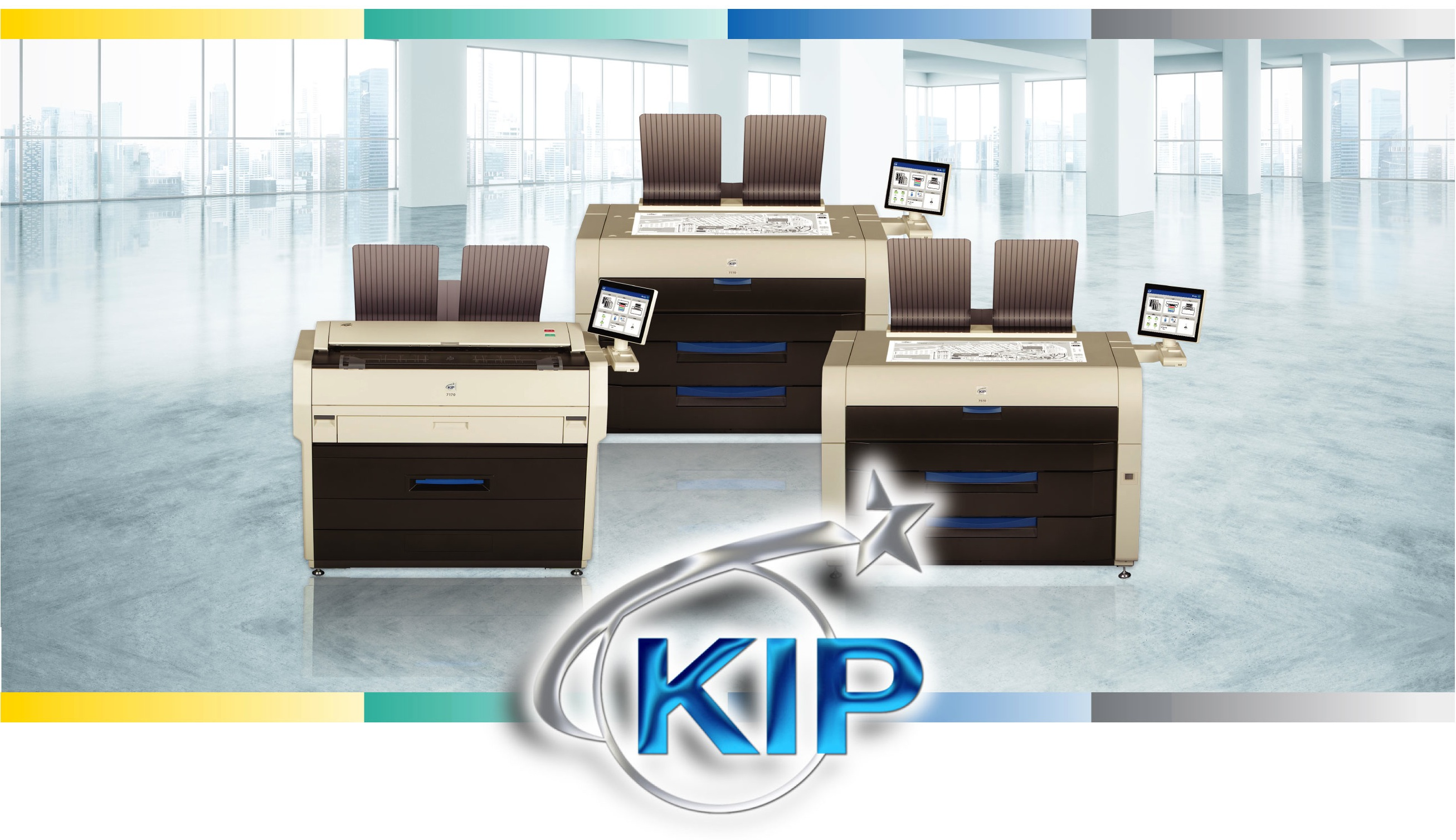 Kip wide format machine