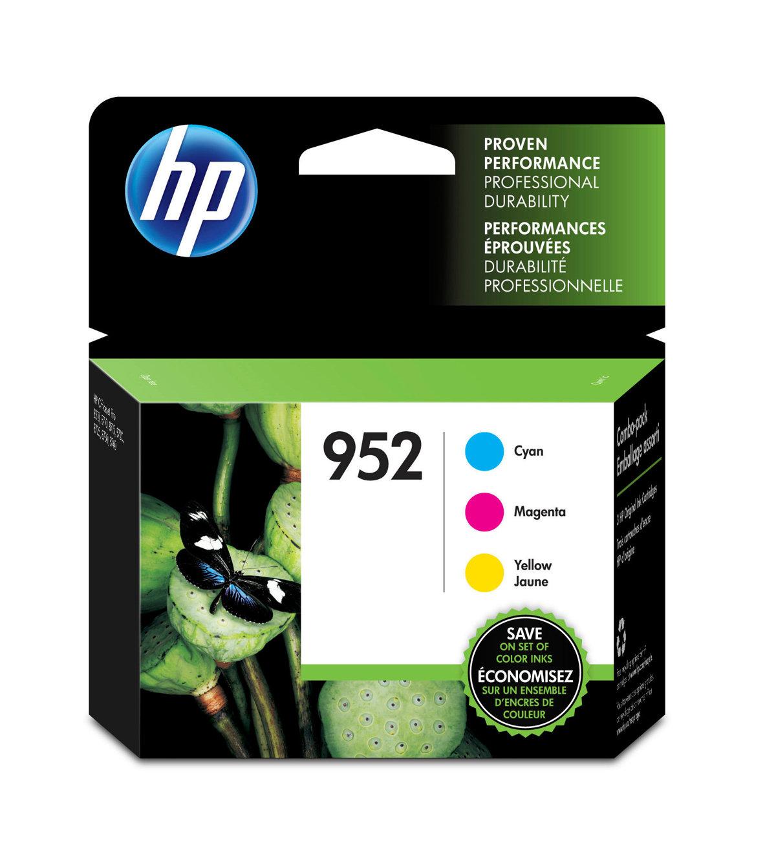 HP 952 (N9K27AN) Cyan/Magenta/Yellow...