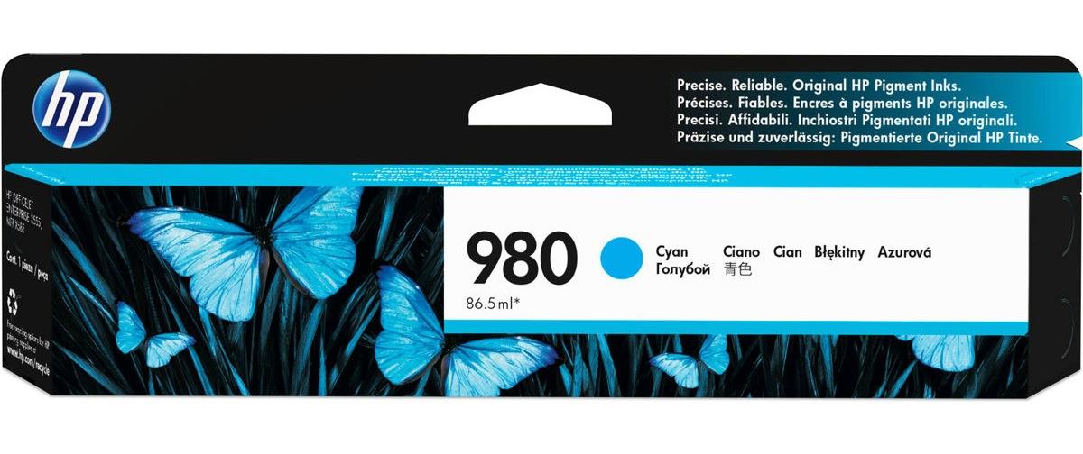 HP 980 (D8J07AG) Cyan Original...