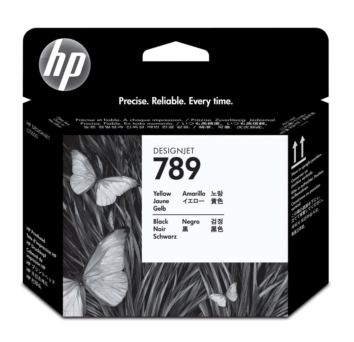HP 789 (CH612A) Yellow/Black...