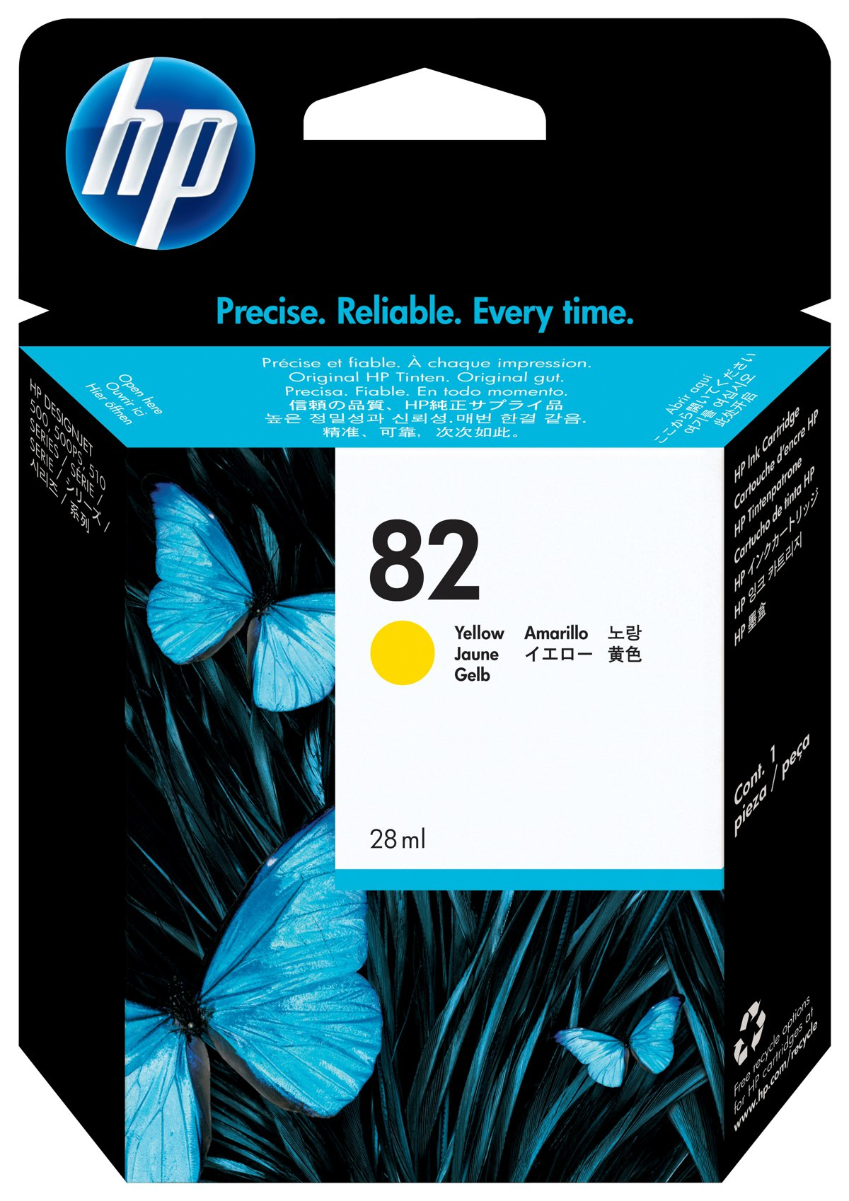 HP 82 (CH568A) Yellow Original...