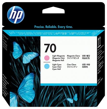 HP 70 (C9405A) Light Cyan/Light...