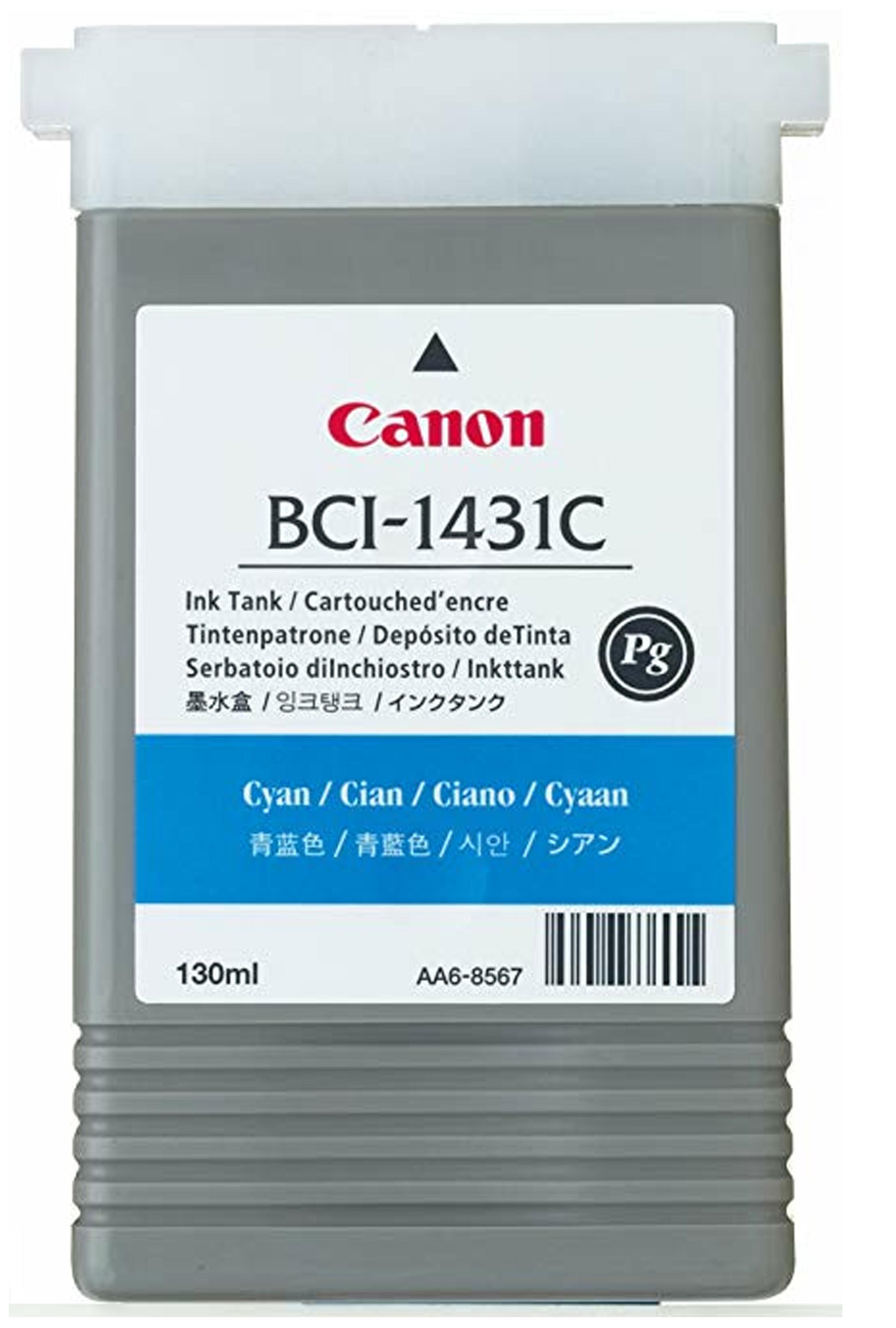 Canon BCI-1431C - Cyan Ink Tank 130ml (8970A001AA)