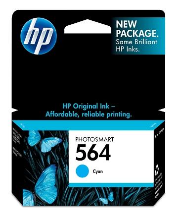 HP 564 (CB318WN) Cyan Original...