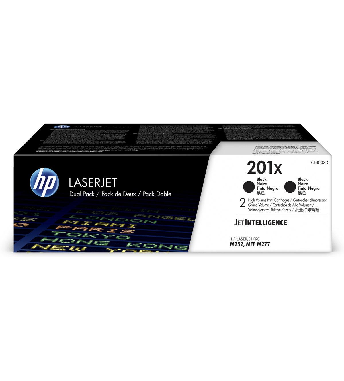 HP 201X High Yield Black Original LaserJet Toner Cartridge (2...