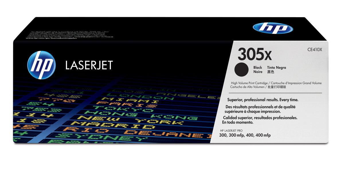 HP 305X (CE410X) Color LaserJet...