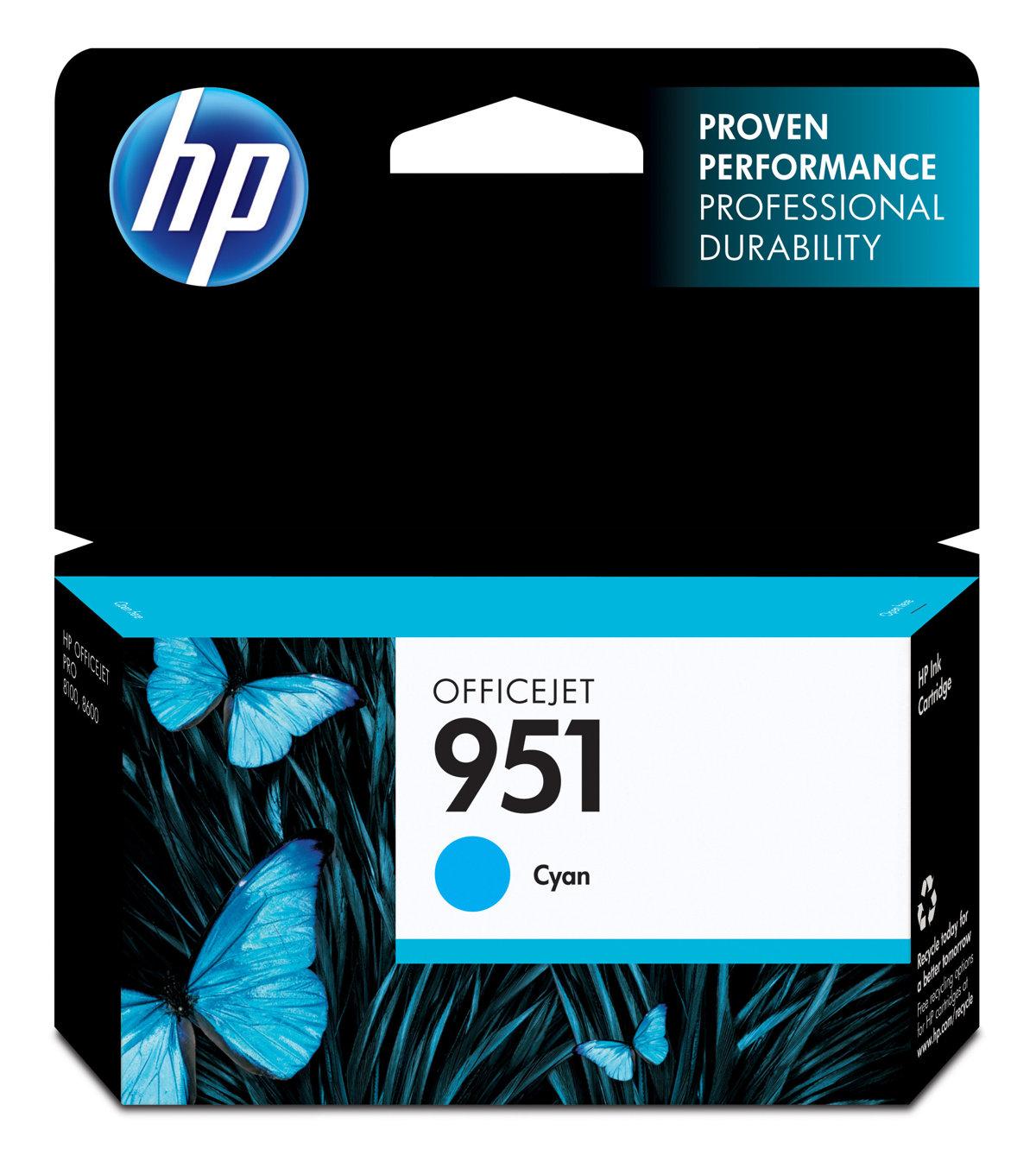 HP 951 (CN050AN) Cyan Original...