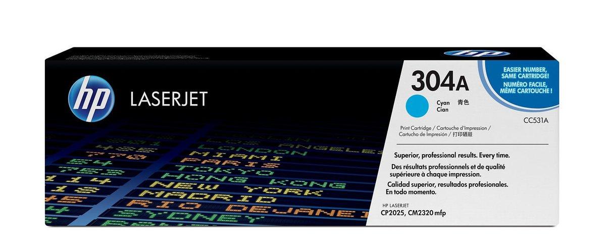 HP 304A Cyan Original LaserJet Toner Cartridge for US...