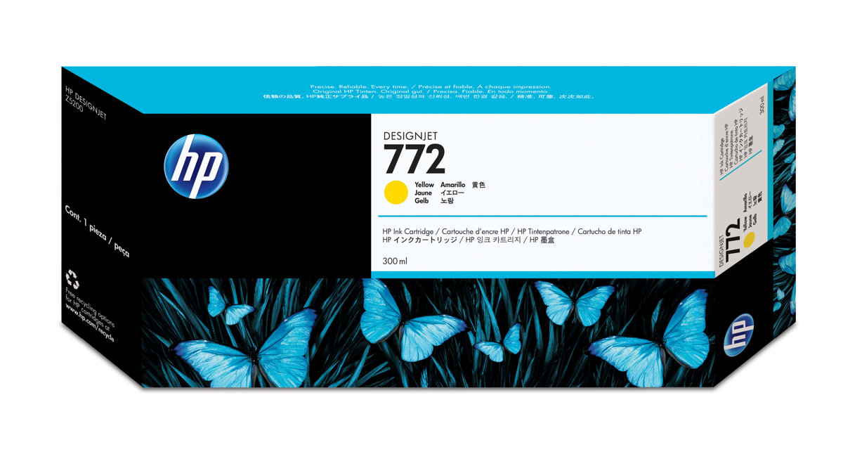 HP 772 (CN630A) Yellow Original...