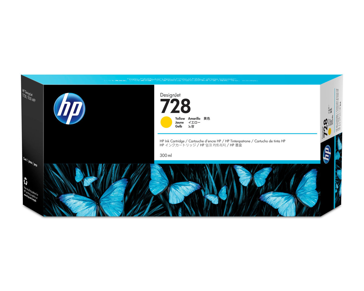 HP 728 (F9K15A) Yellow Original...