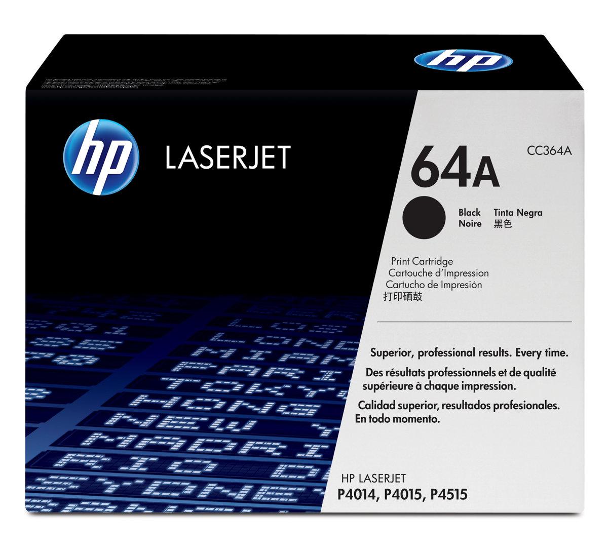 HP 64A LaserJet Black Original LaserJet Toner Cartridge for US...