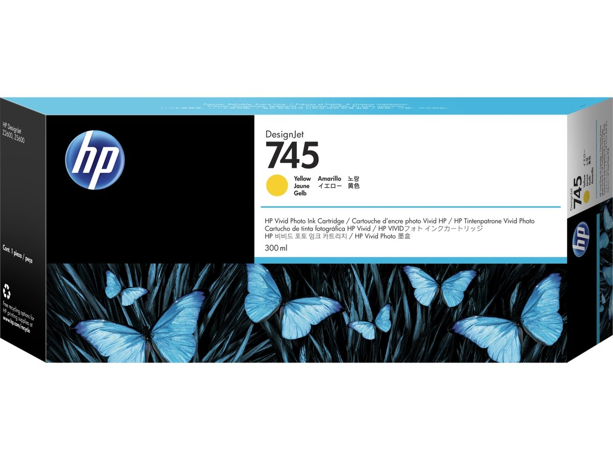 HP 745 (F9K02A) Yellow Original...
