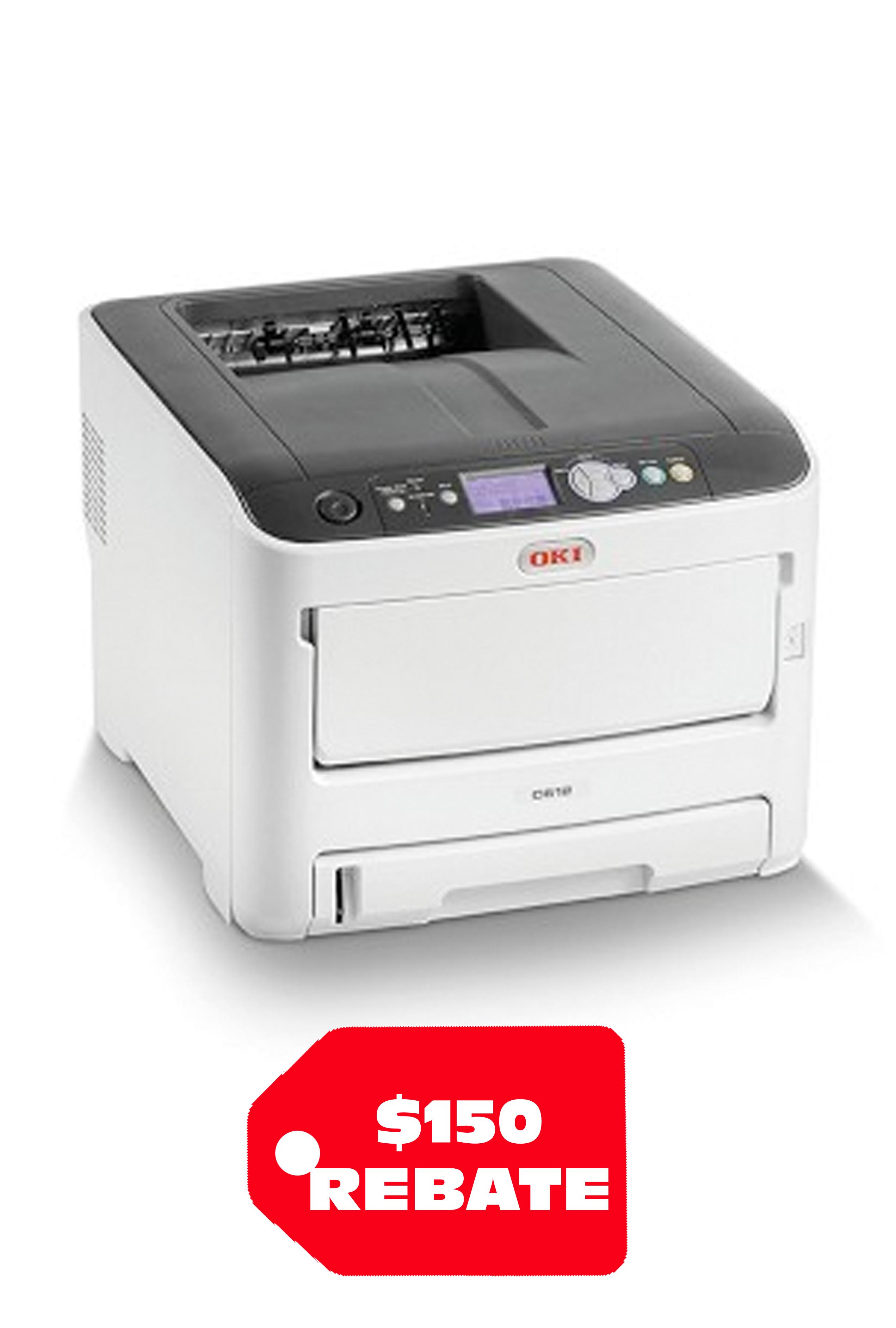 Okidata OKI C612dn Digital Color Printer (34ppm)